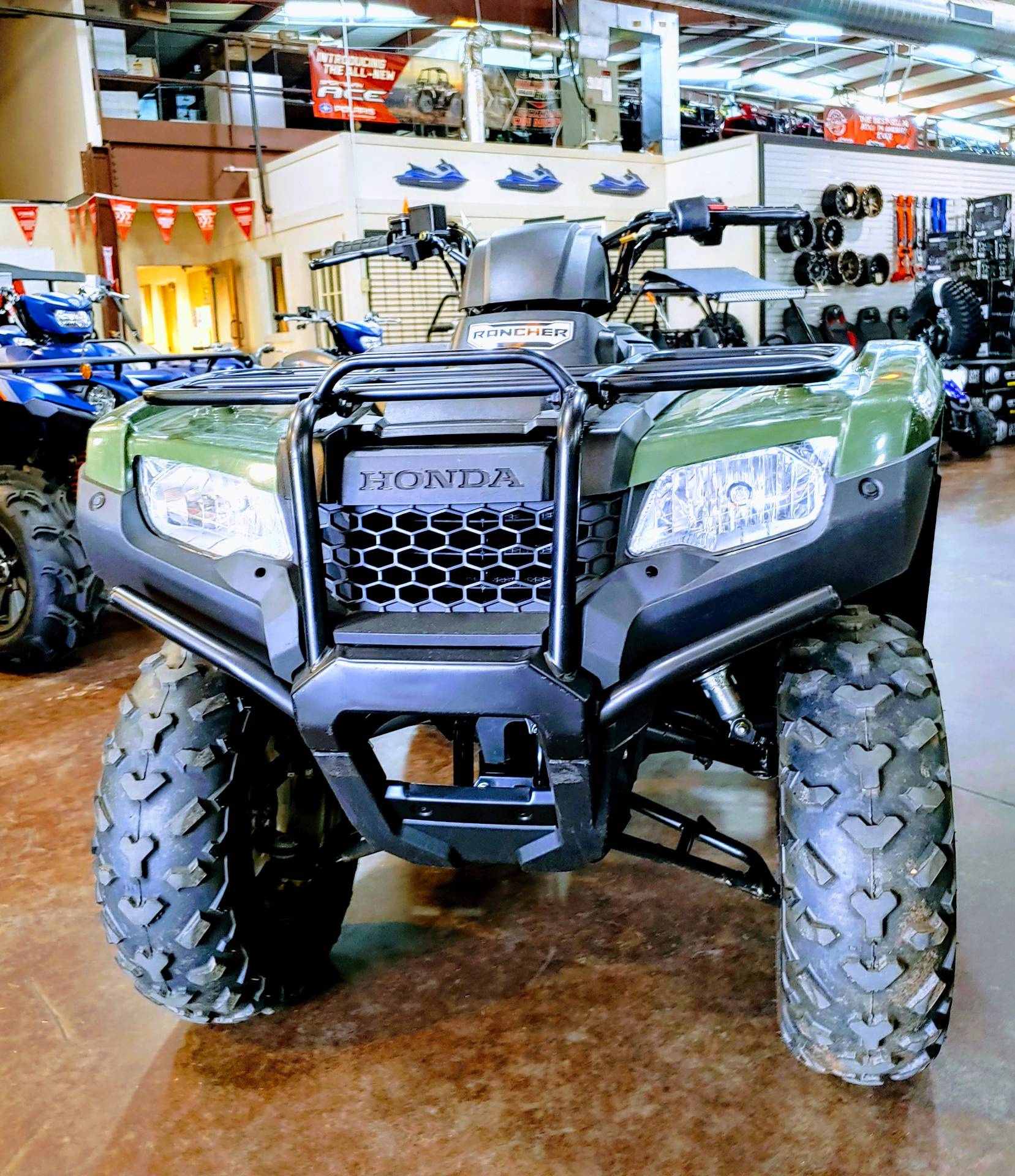 2017 Honda FourTrax Rancher in Statesville, North Carolina
