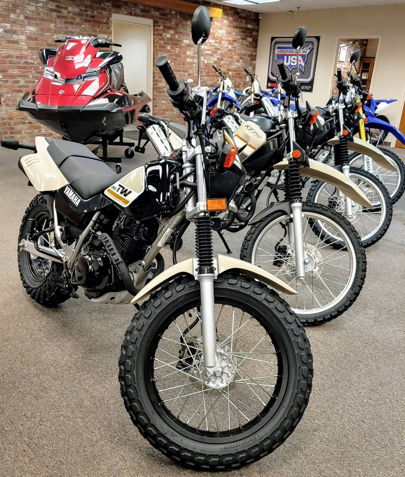2020 Yamaha TW200 in Statesville, North Carolina - Photo 1