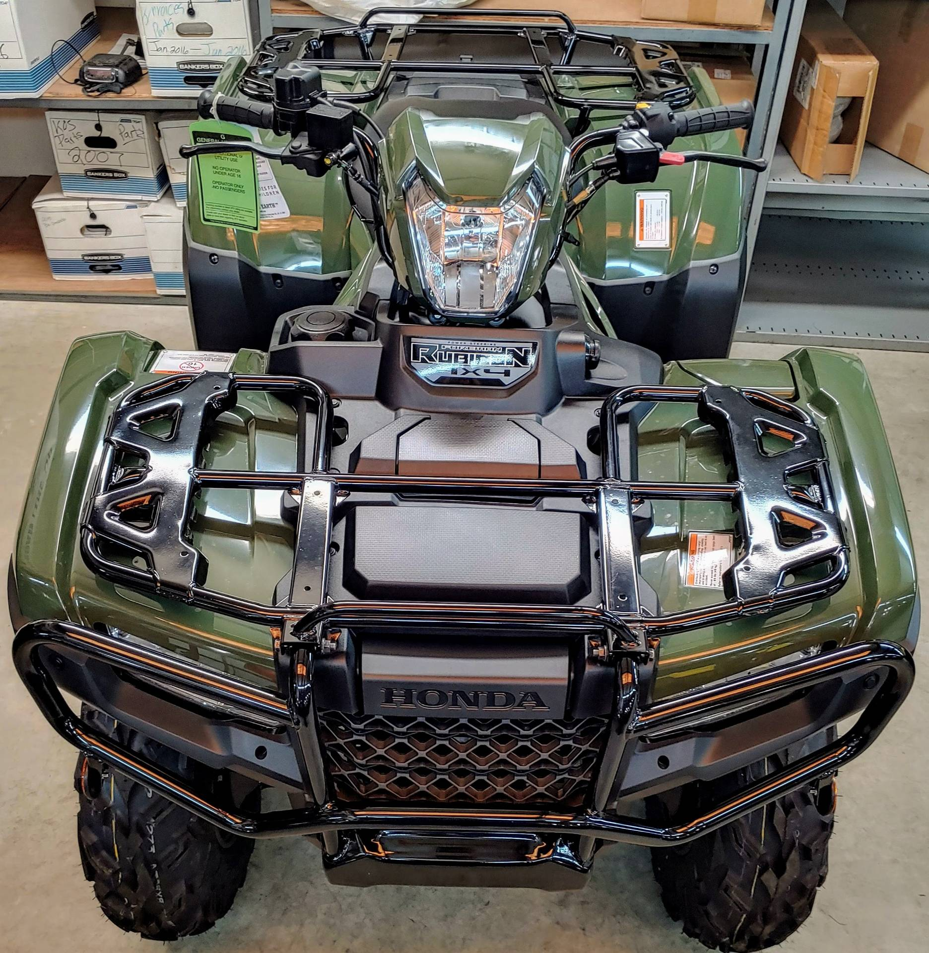 2019 Honda FourTrax Foreman Rubicon 4x4 EPS in Statesville, North Carolina
