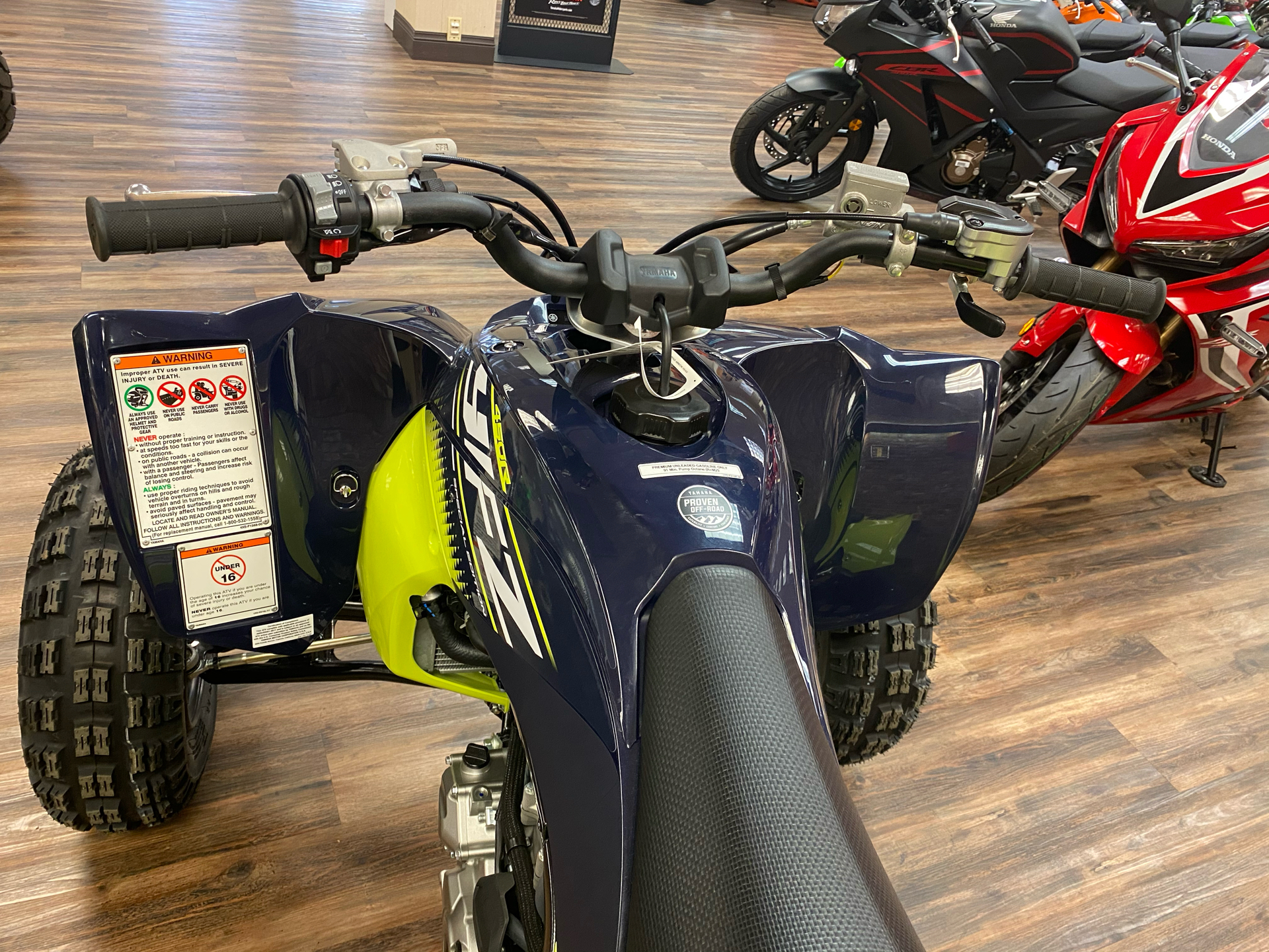 2020 Yamaha YFZ450R SE in Statesville, North Carolina - Photo 3