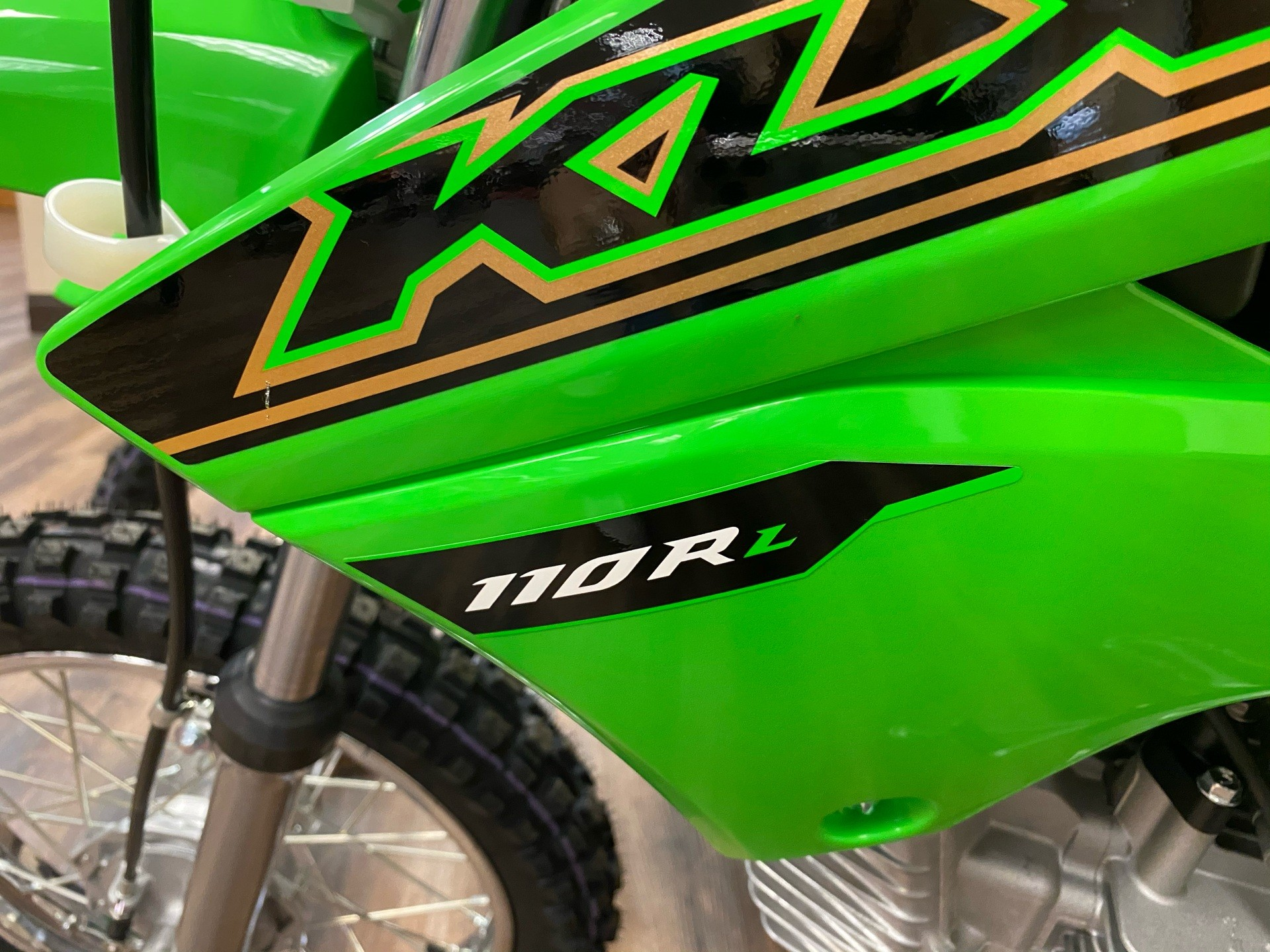2021 Kawasaki KLX 110R L in Statesville, North Carolina - Photo 2