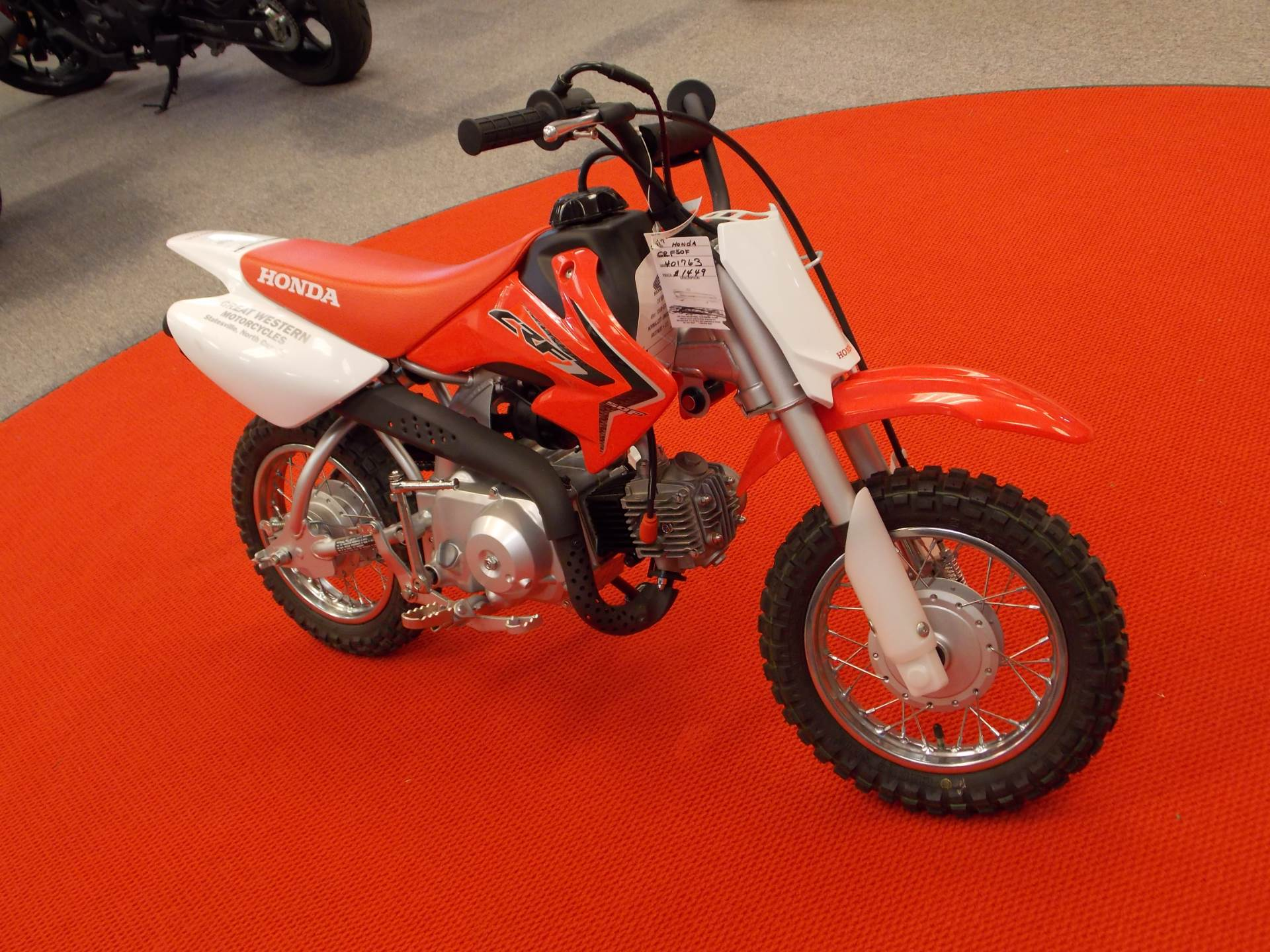 new 2017 honda crf50f motorcycles in statesville, nc | stock