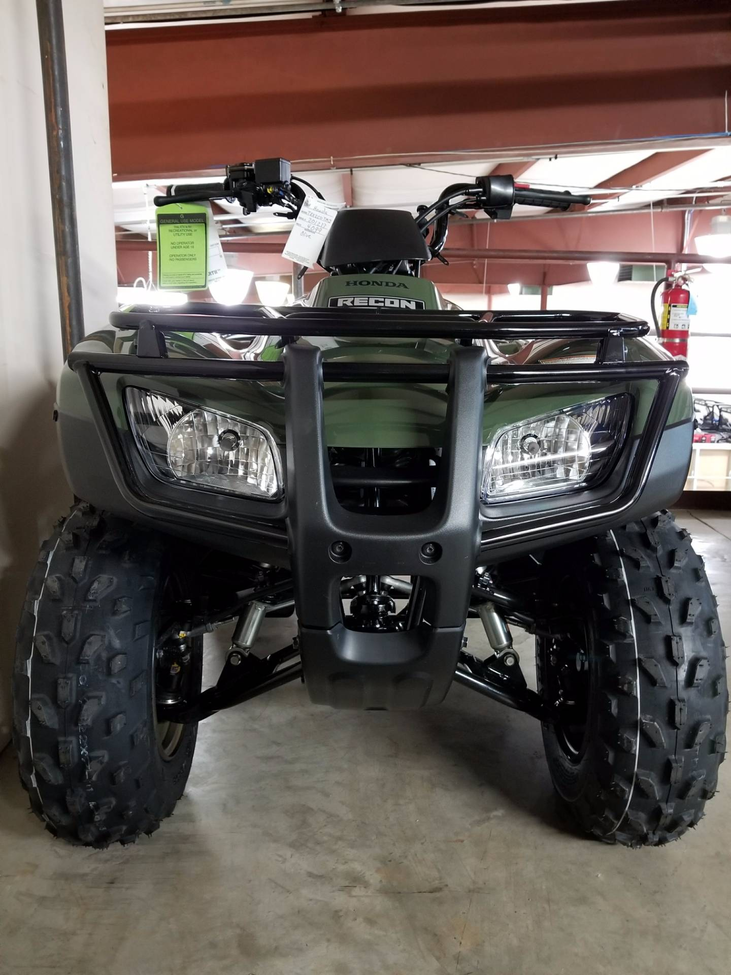2018 Honda FourTrax Recon in Statesville, North Carolina