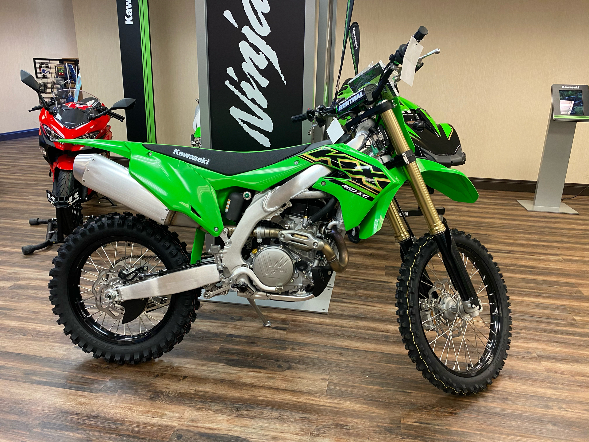2021 Kawasaki KX 450X in Statesville, North Carolina - Photo 1