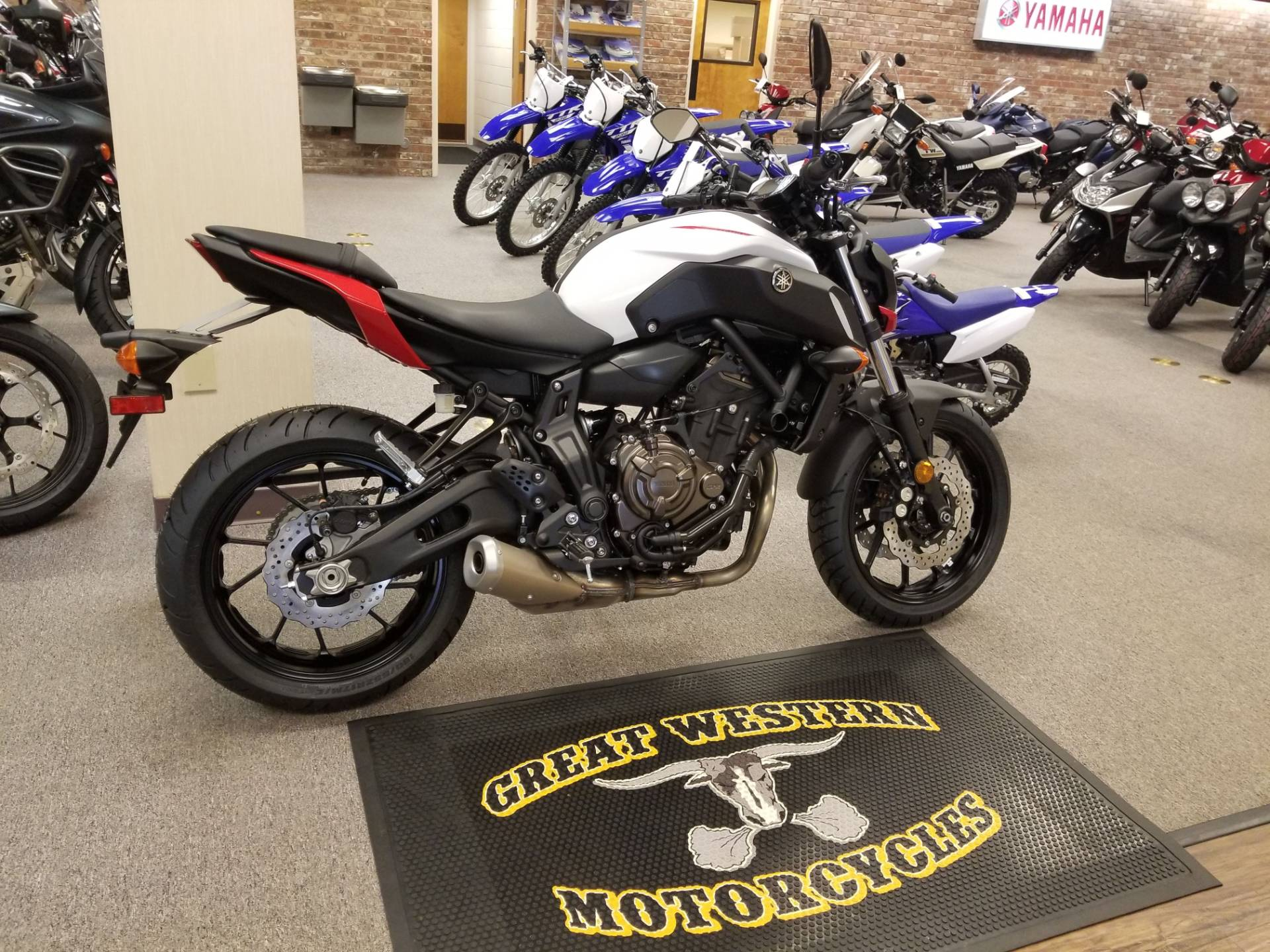 2018 Yamaha MT-07 in Statesville, North Carolina