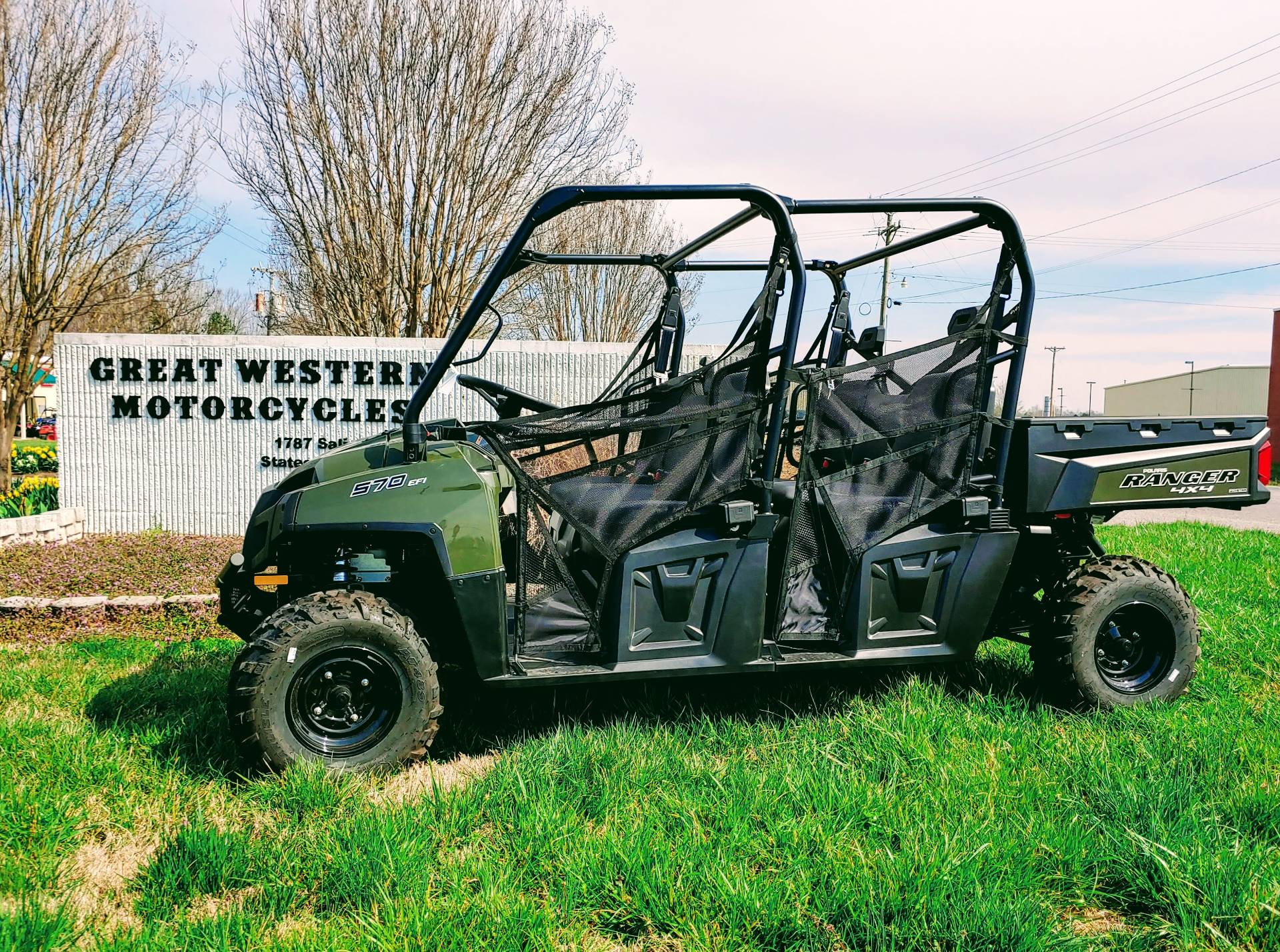 2019 Polaris Ranger Crew 570-6 in Statesville, North Carolina - Photo 1
