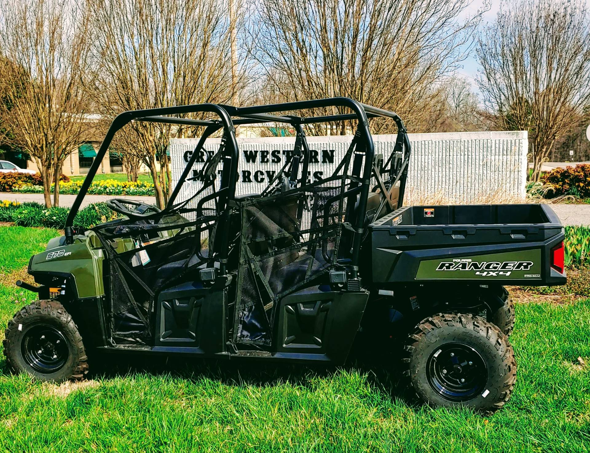 2019 Polaris Ranger Crew 570-6 in Statesville, North Carolina - Photo 2