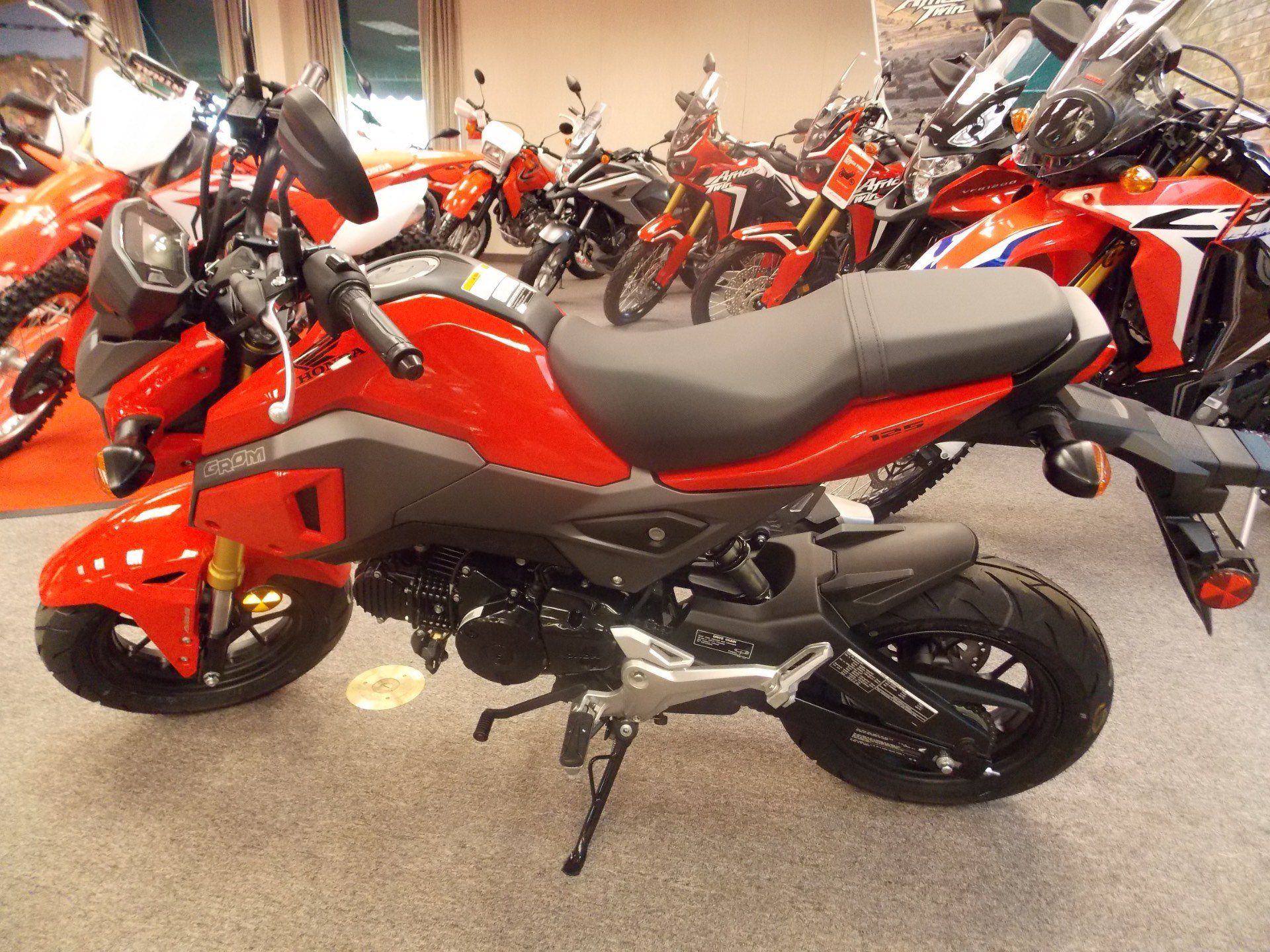 2018 Honda Grom ABS in Statesville, North Carolina