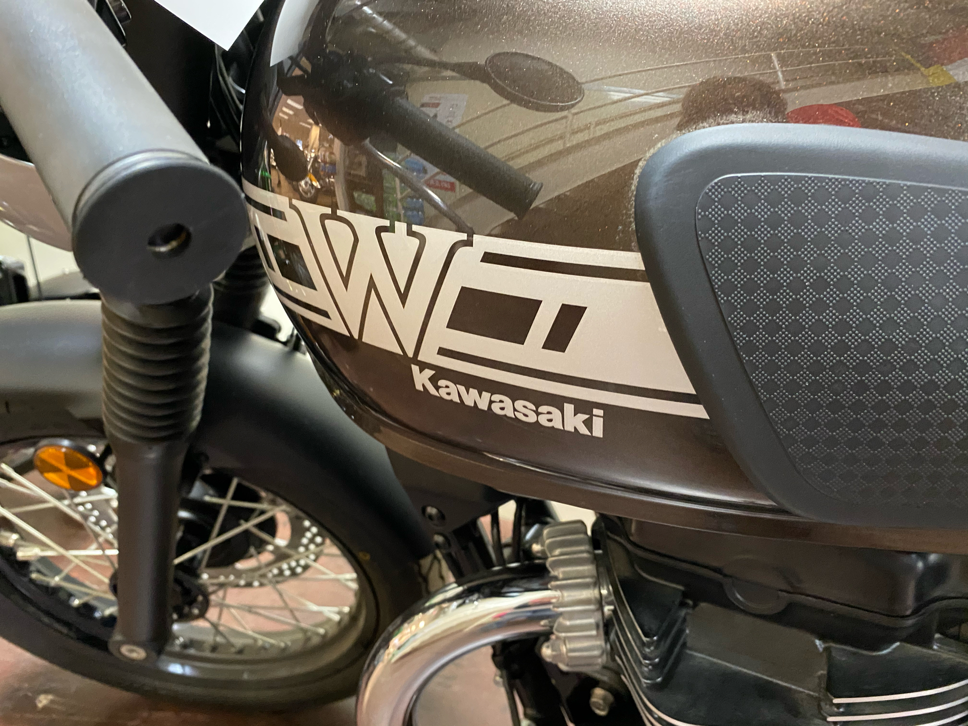2019 Kawasaki W800 Cafe in Statesville, North Carolina - Photo 10