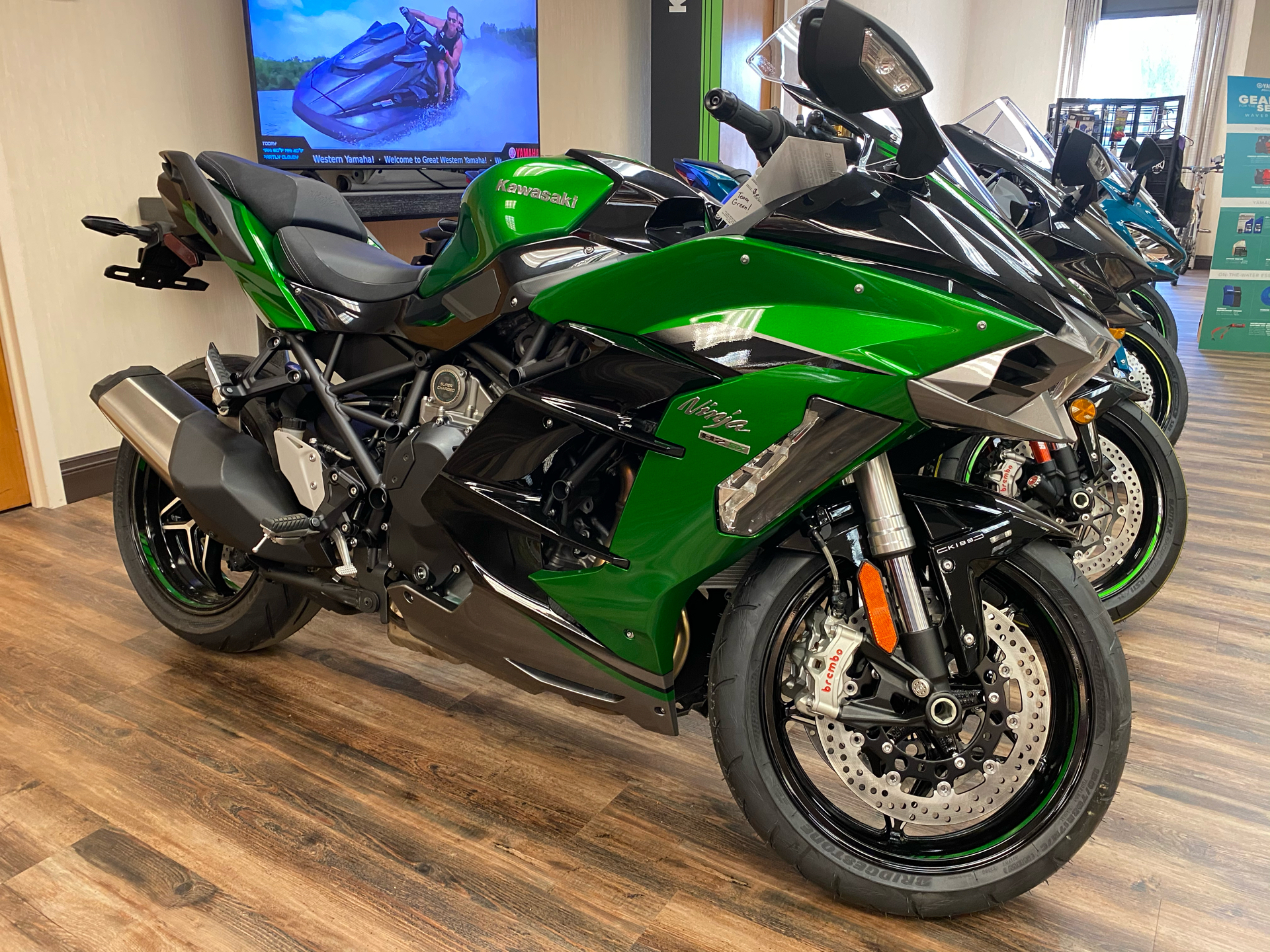 2021 Kawasaki Ninja H2 SX SE+ in Statesville, North Carolina - Photo 1