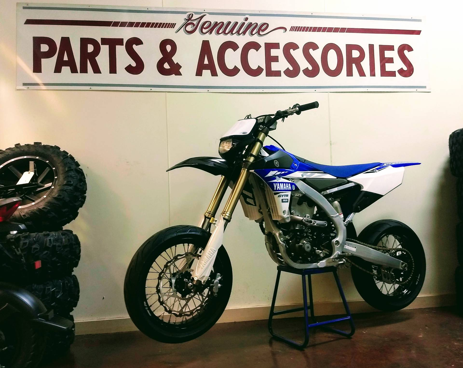 2017 Yamaha YZ450F in Statesville, North Carolina - Photo 1