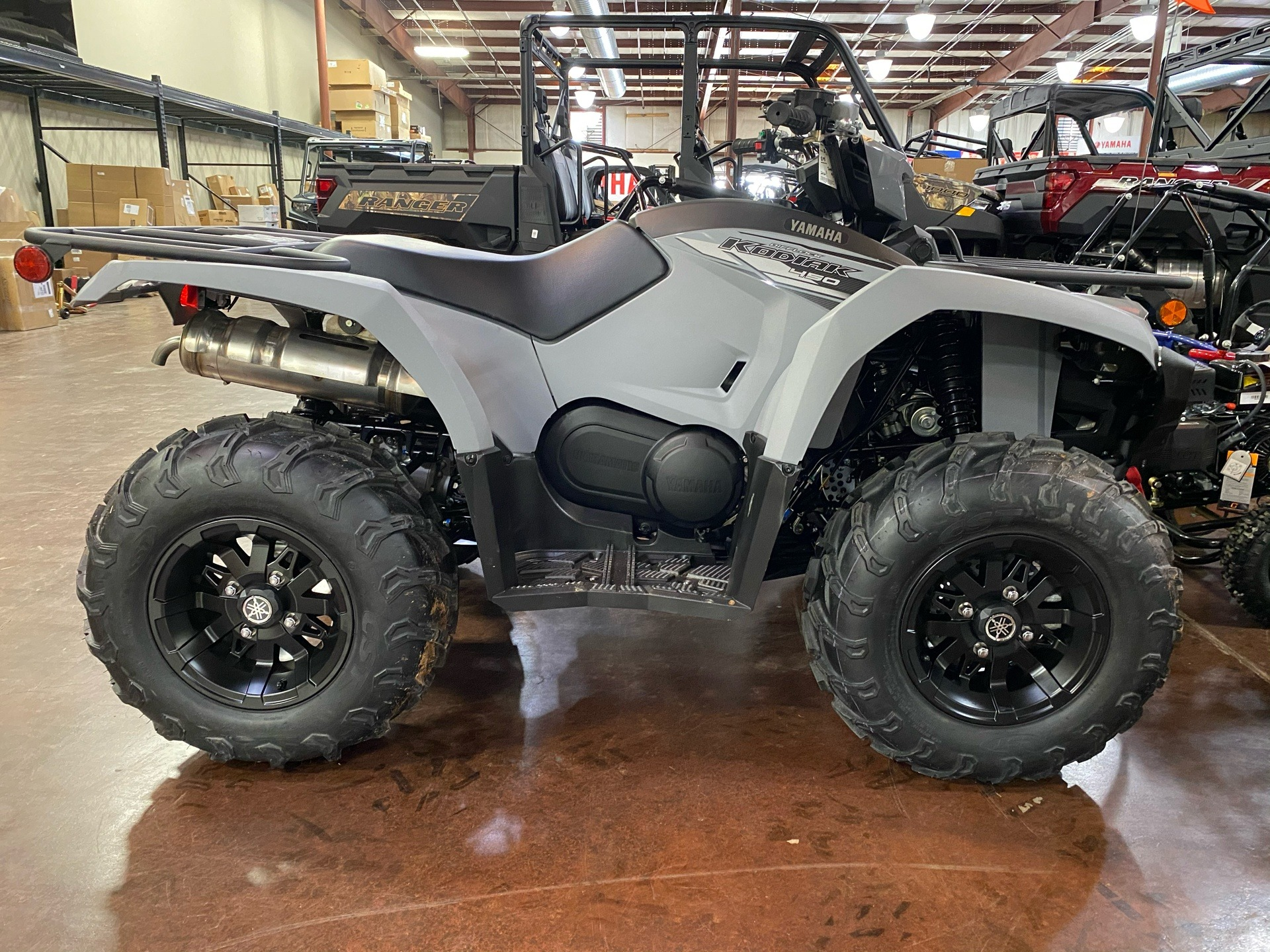 2021 Yamaha Kodiak 450 EPS SE in Statesville, North Carolina - Photo 1