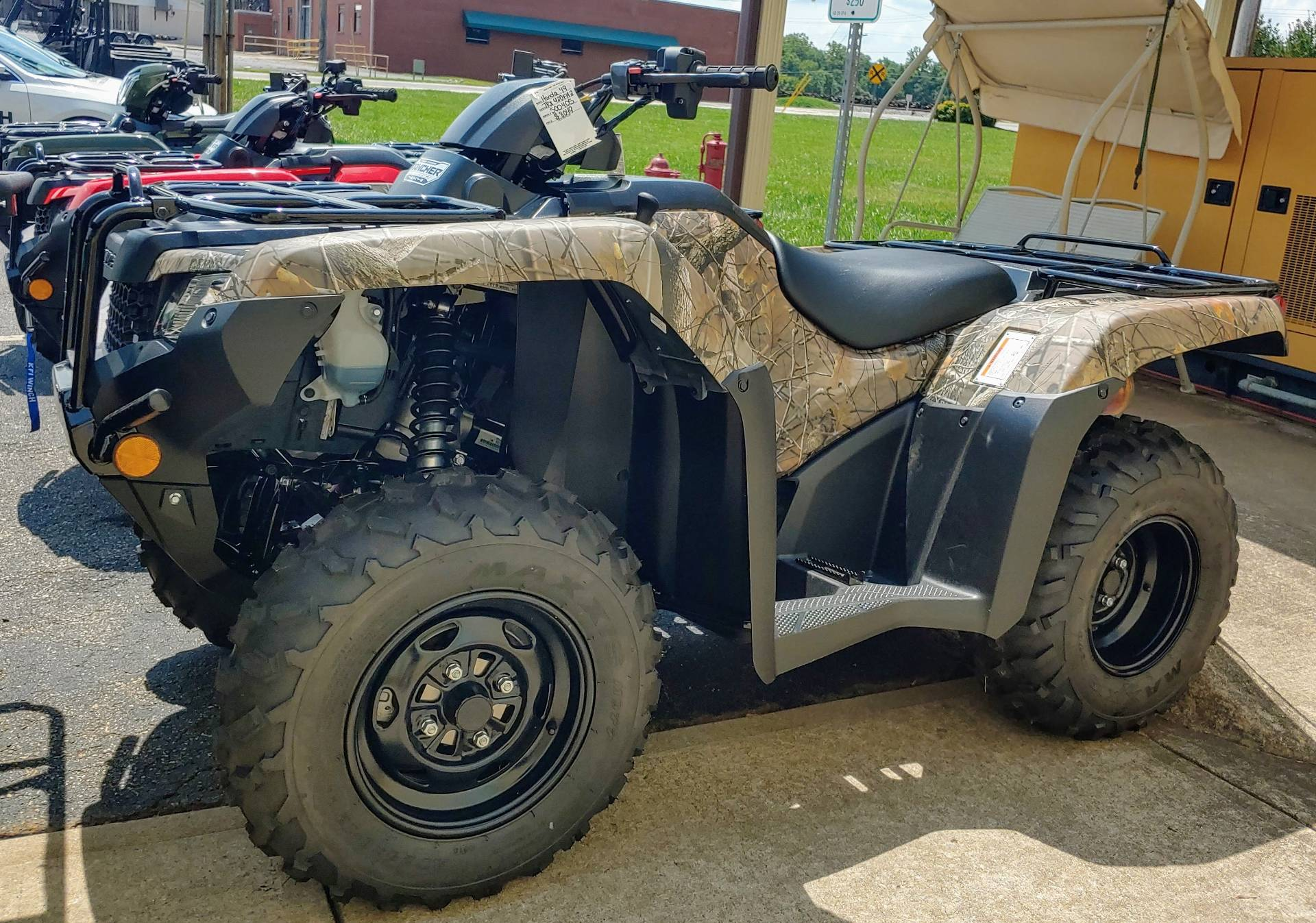 2019 Honda FourTrax Rancher 4x4 DCT EPS in Statesville, North Carolina - Photo 1