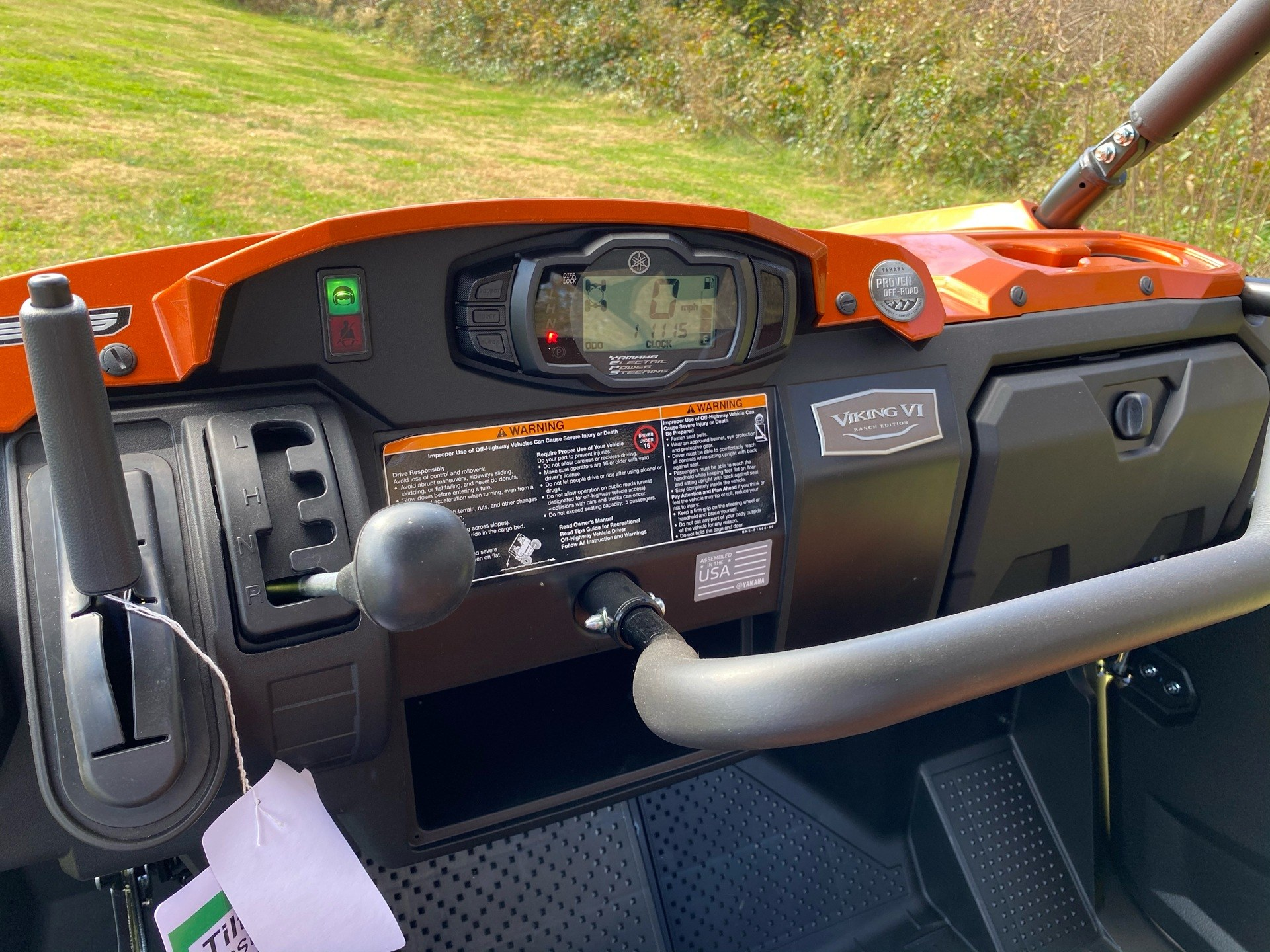 2021 Yamaha Viking VI EPS Ranch Edition in Statesville, North Carolina - Photo 9