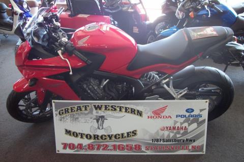 2014 Honda CBR®650F in Statesville, North Carolina