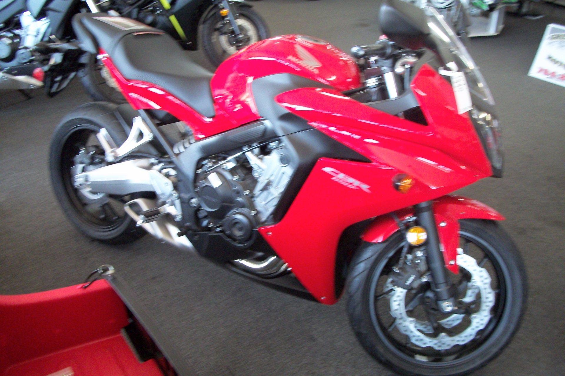new 2014 honda cbr®650f motorcycles in statesville, nc | stock