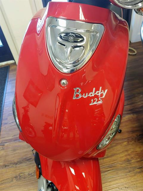 2019 Genuine Scooters Buddy 125 in Statesville, North Carolina - Photo 5