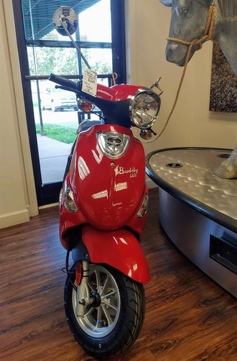 2019 Genuine Scooters Buddy 125 in Statesville, North Carolina - Photo 2