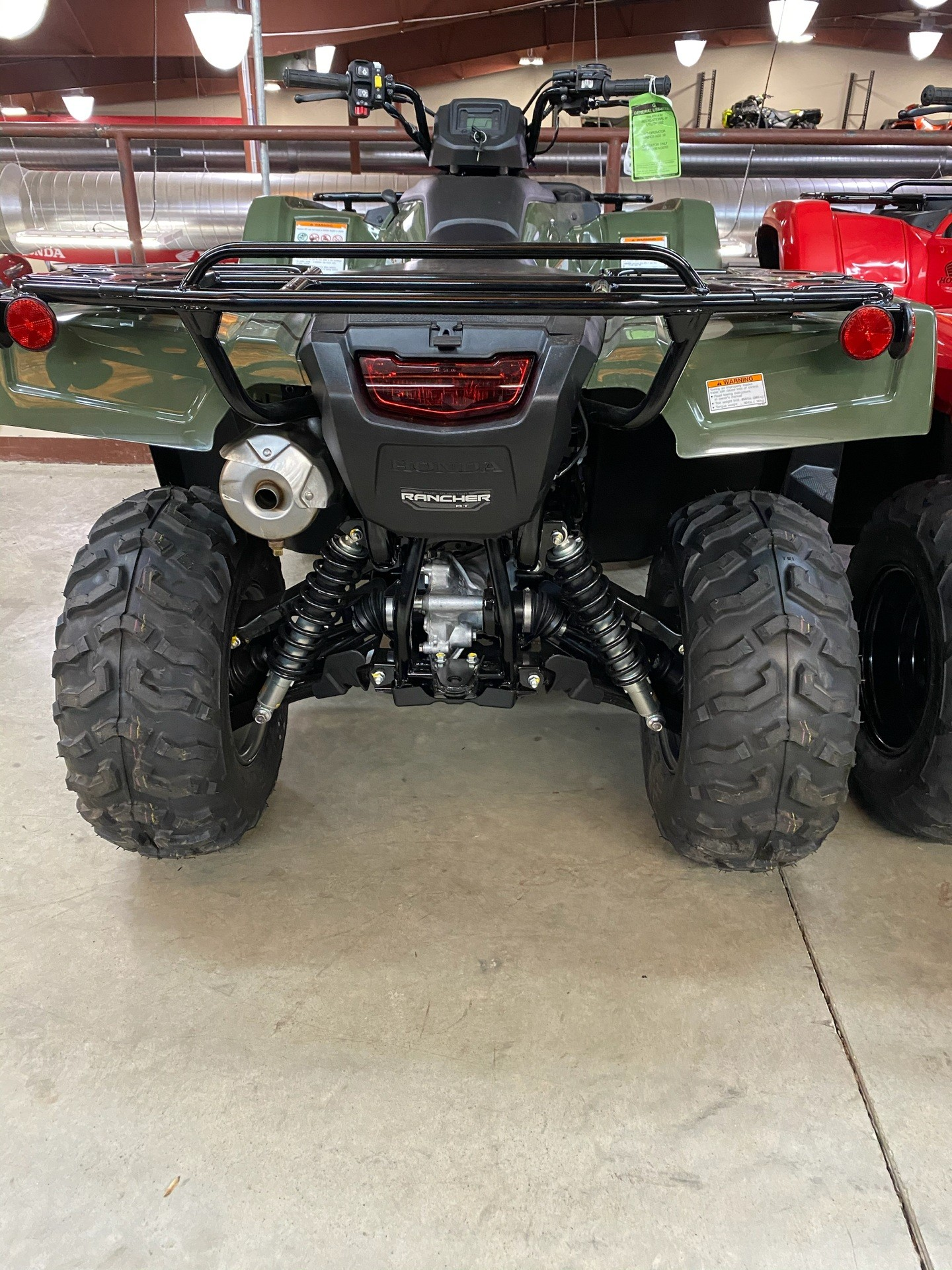 2020 Honda FourTrax Rancher 4x4 Automatic DCT IRS in Statesville, North Carolina - Photo 2
