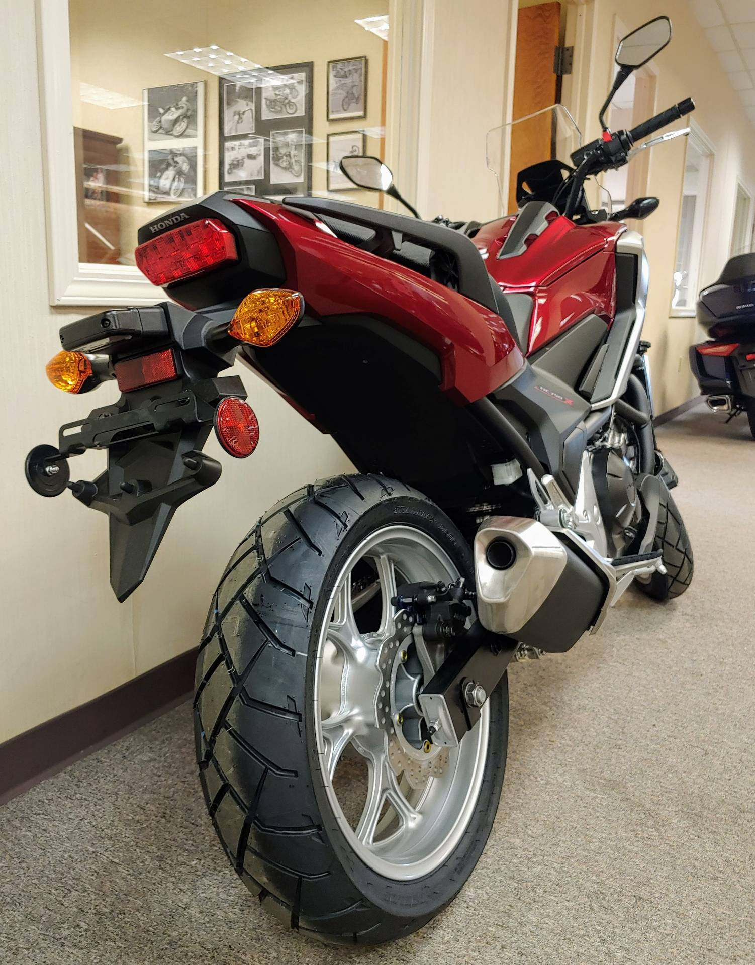 New 2018 Honda Nc750x Motorcycles In Statesville Nc Stock Number