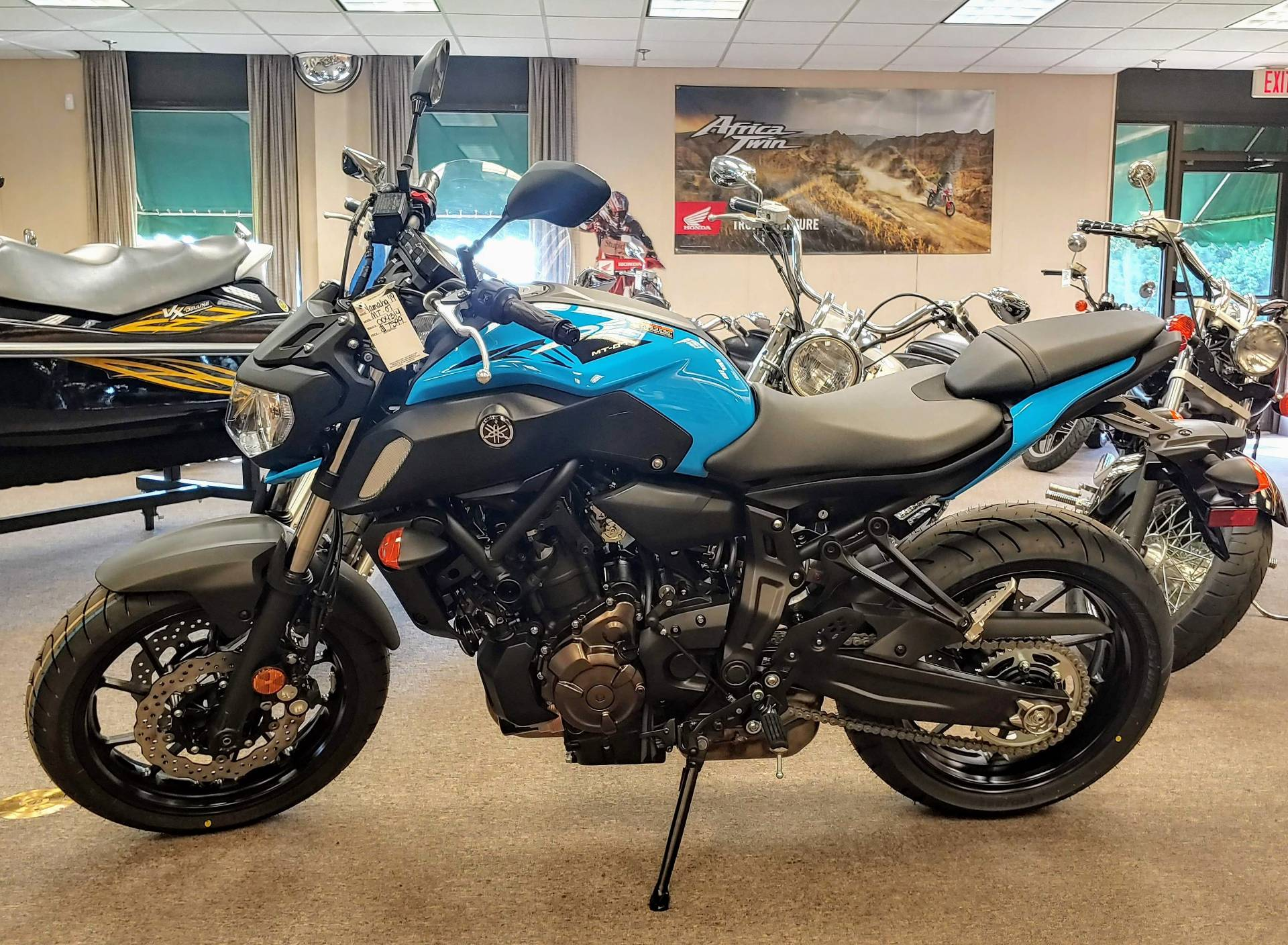 2019 Yamaha MT-07 in Statesville, North Carolina - Photo 1