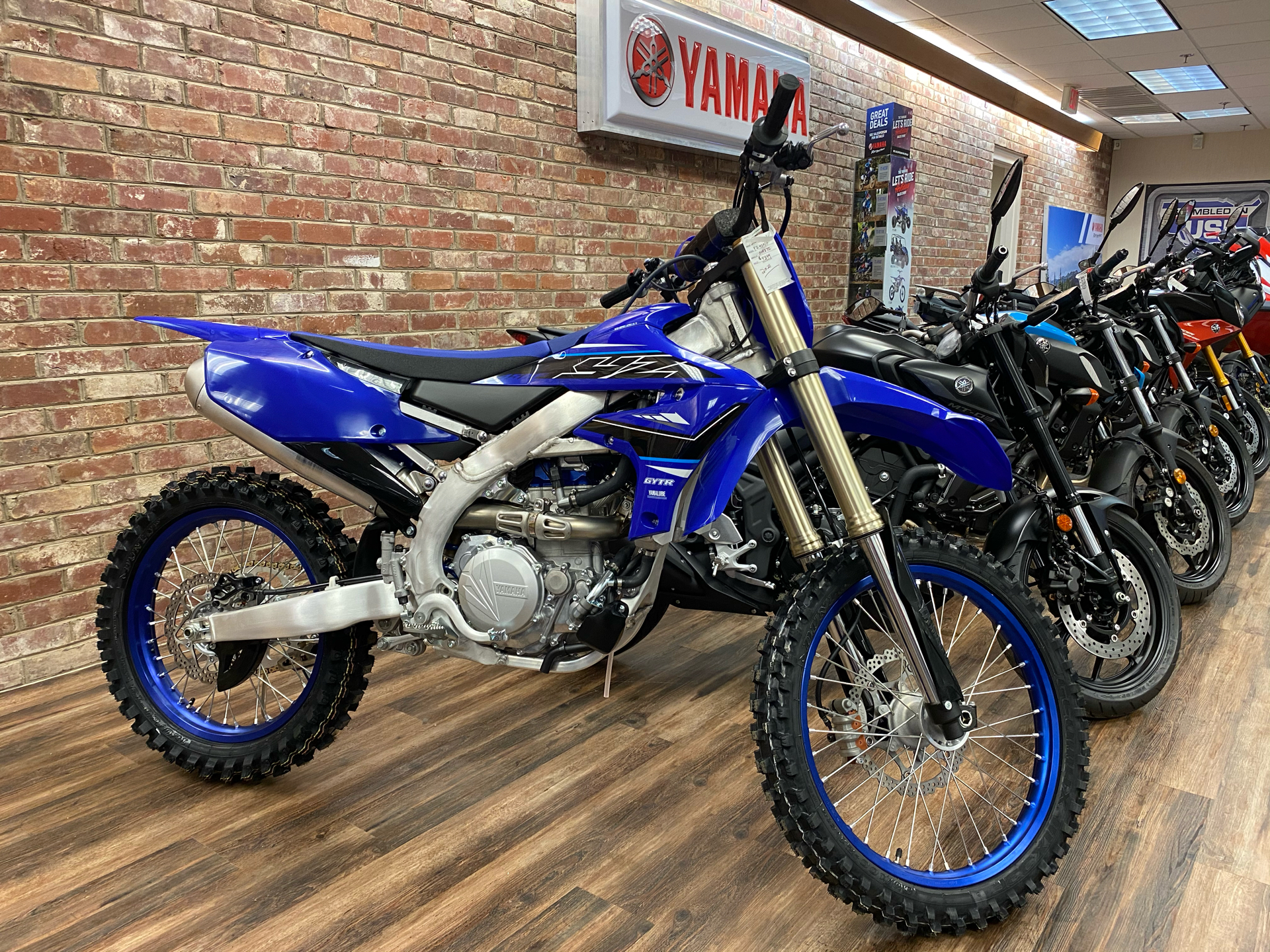 2021 Yamaha YZ450F in Statesville, North Carolina - Photo 1