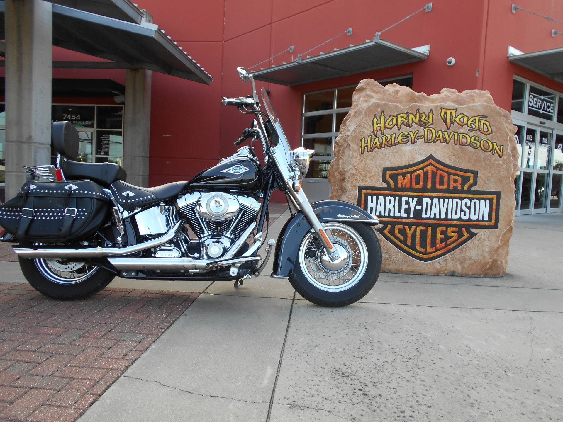 2009 Harley-Davidson FLSTC Heritage Softail® Classic in Temple, Texas - Photo 1