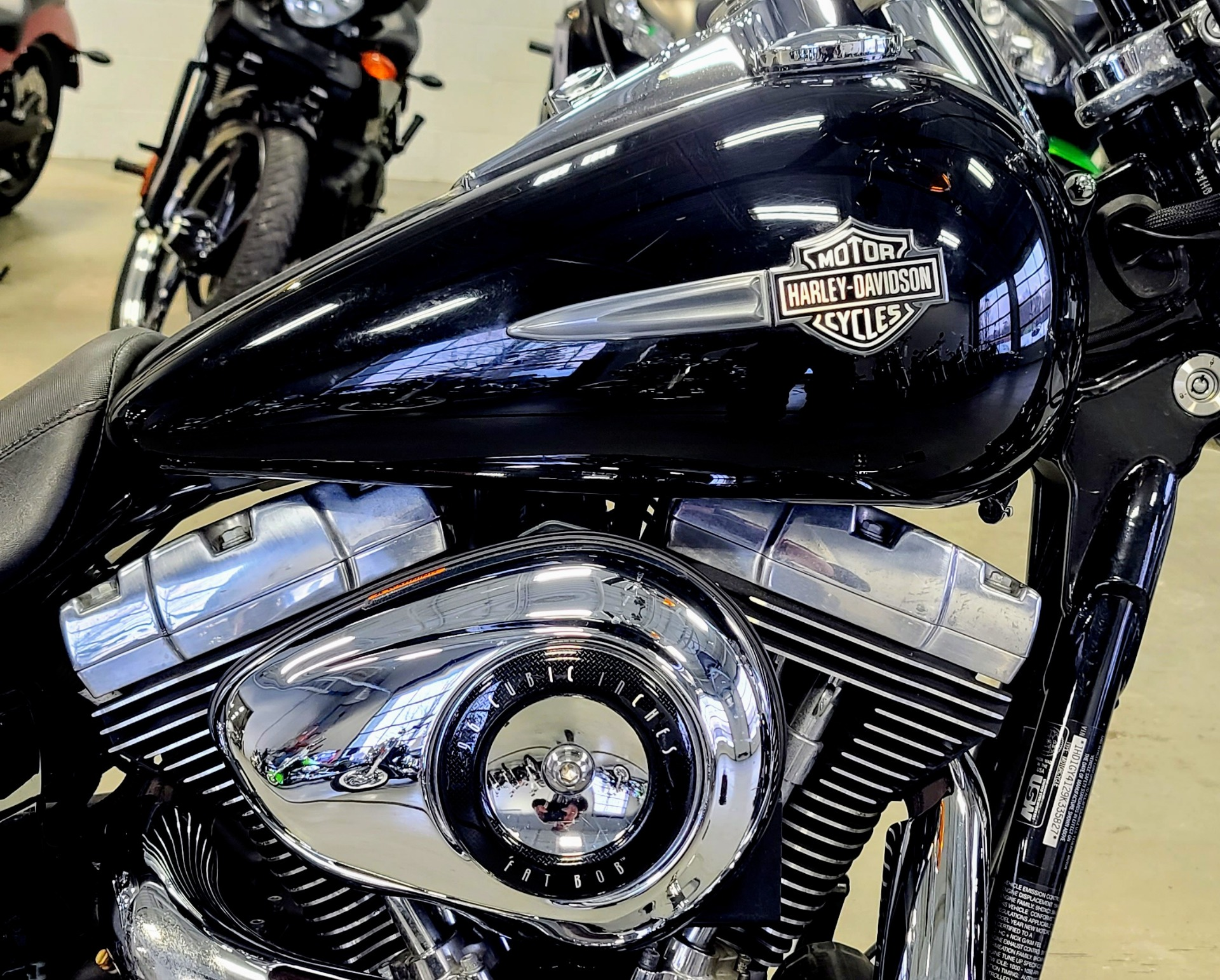 2009 Harley-Davidson Dyna Fat Bob in Lake Villa, Illinois - Photo 2