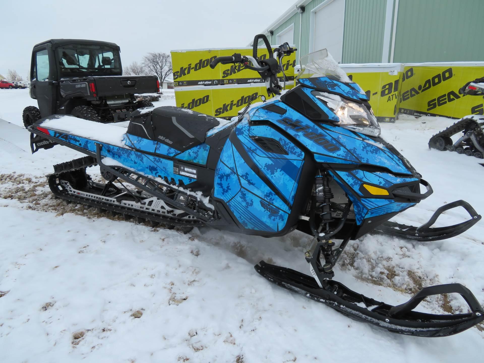 """2015 Ski-Doo Summit X 174 800R E-TEC, PowderMax 3.0"""" for sale 10362"""