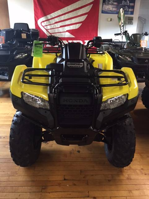 2018 Honda FourTrax Rancher 4x4 DCT IRS EPS in Palmerton, Pennsylvania