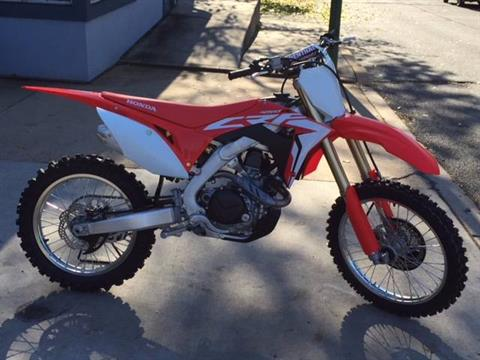 2018 Honda CRF450R in Palmerton, Pennsylvania