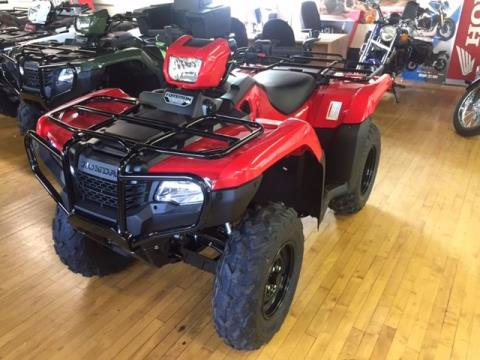 2016 Honda FourTrax Foreman 4x4 ES Power Steering in Palmerton, Pennsylvania