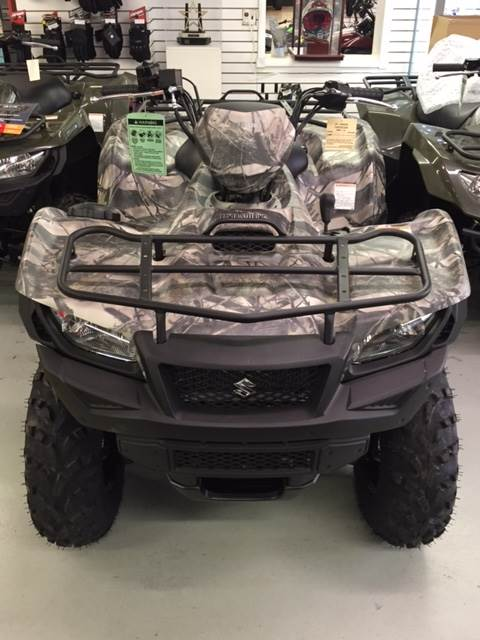 2017 Suzuki KingQuad 500AXi Power Steering Camo in Palmerton, Pennsylvania
