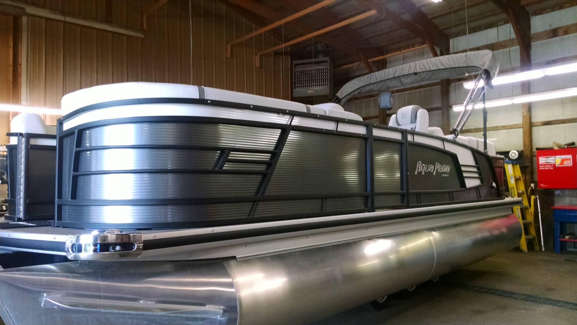 New 2017 Aqua Patio 235 SB Power Boats Outboard in Kalamazoo MI