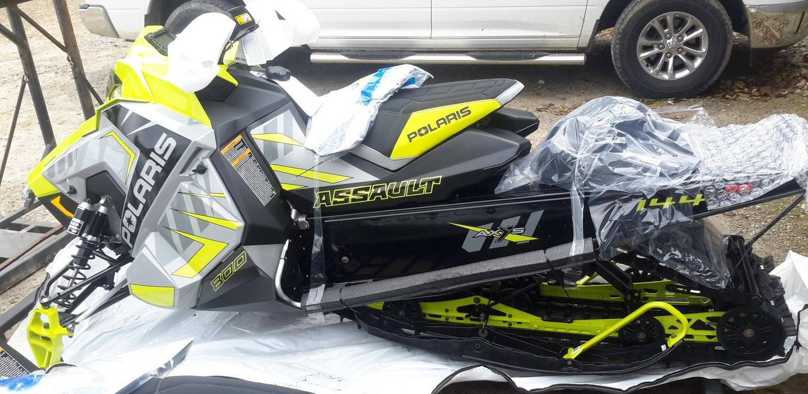2020 Polaris 800 Switchback Assault 144 SC in Tecumseh, Michigan - Photo 2