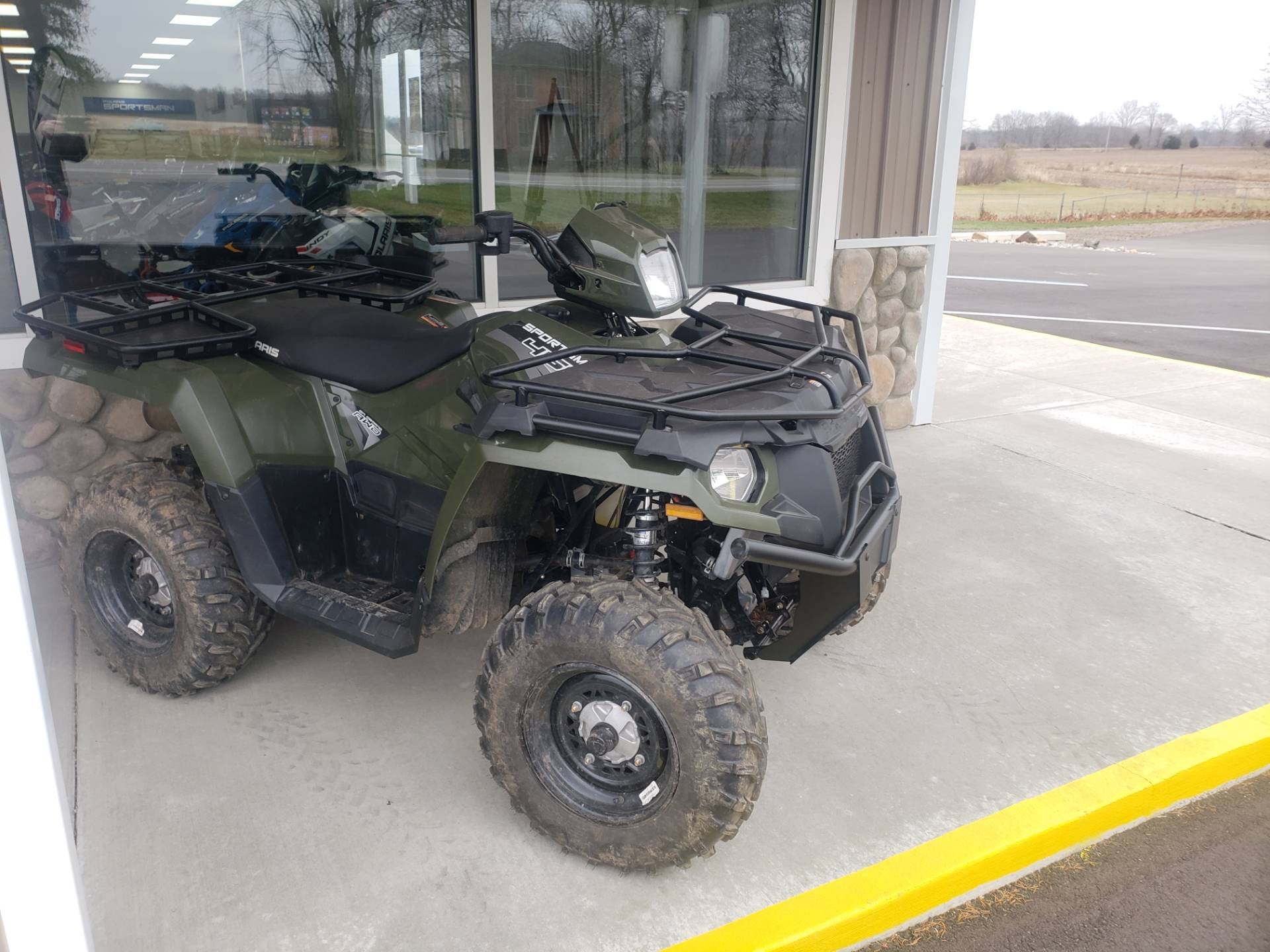 2020 Polaris Sportsman 450 H.O. Utility Package in Tecumseh, Michigan - Photo 1
