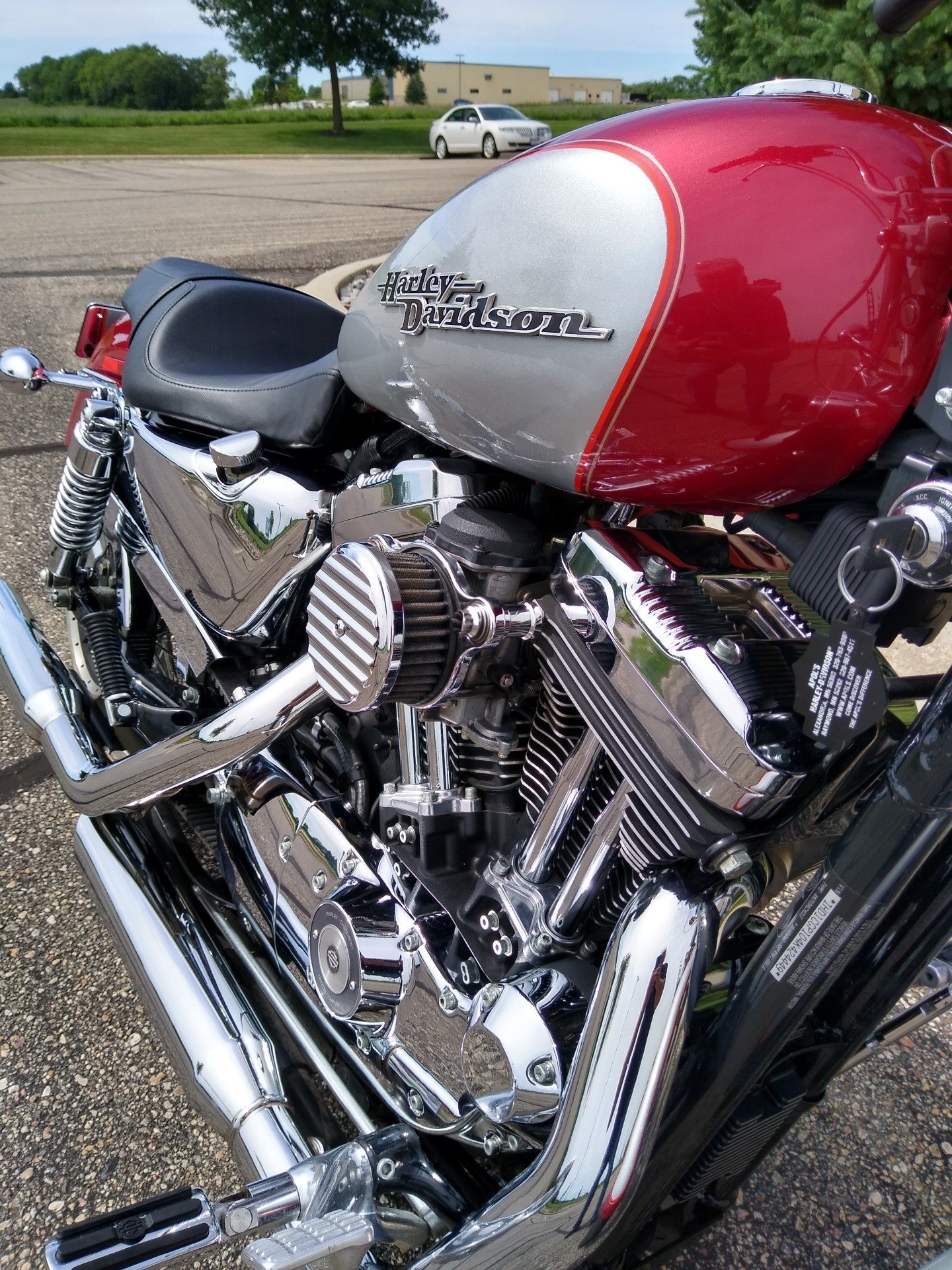 2004 Harley-Davidson Sportster® XL 1200 Custom in Alexandria, Minnesota - Photo 4