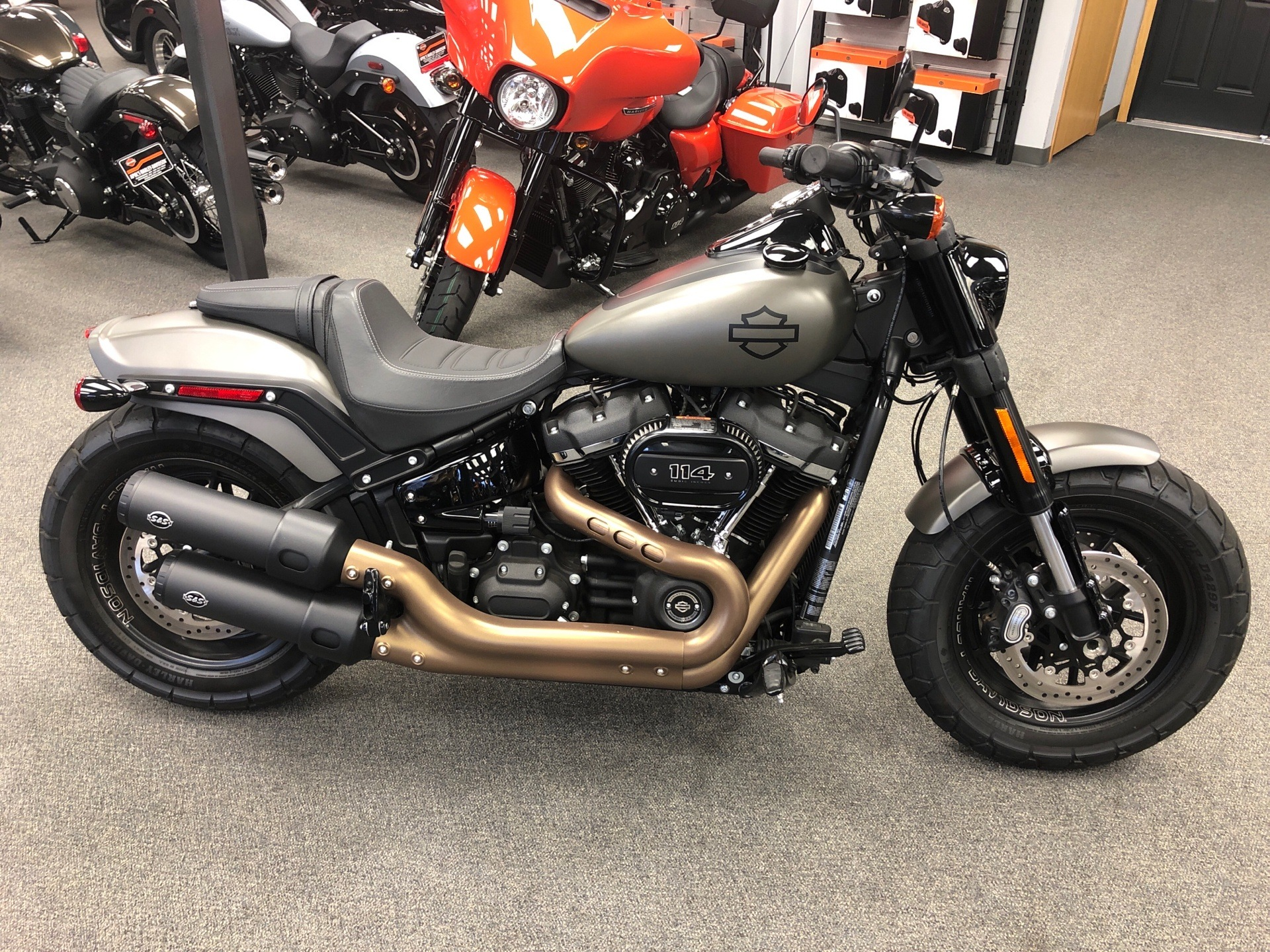 2018 Harley-Davidson Fat Bob® 114 in Alexandria, Minnesota - Photo 1