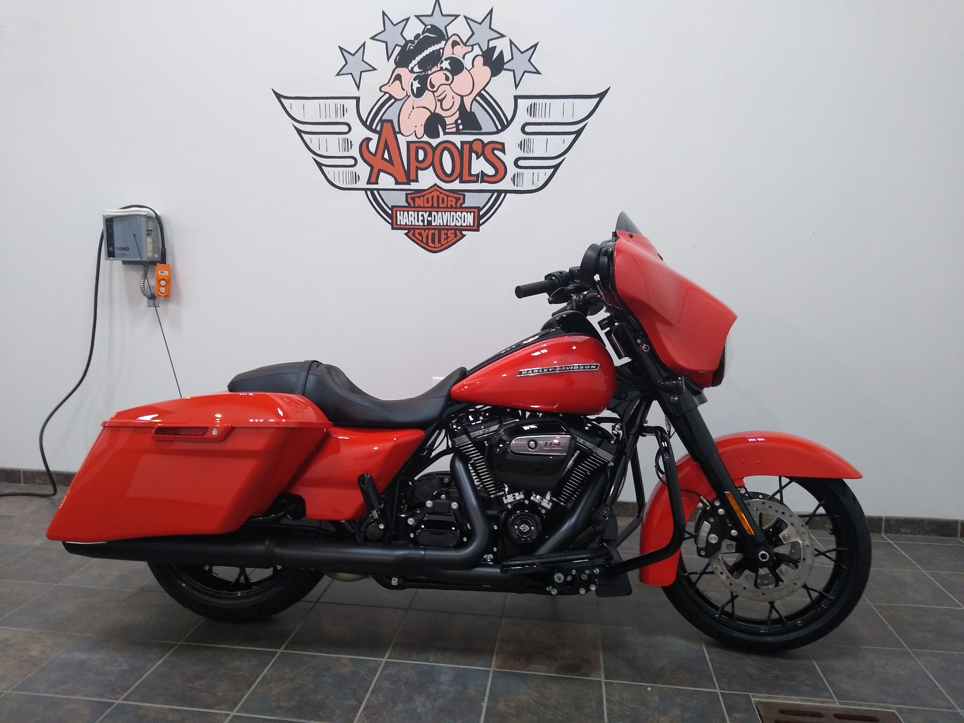 New 2020 Harley Davidson Street Glide Special Performance Orange