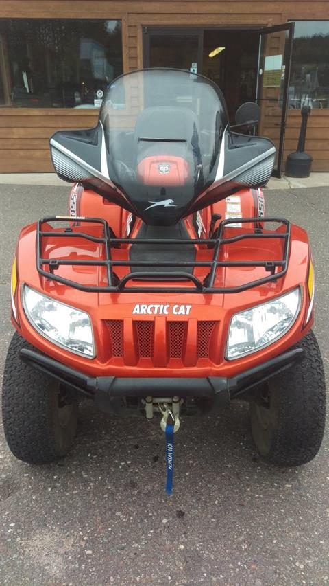 2012 Arctic Cat TRV® 550i GT in Trego, Wisconsin