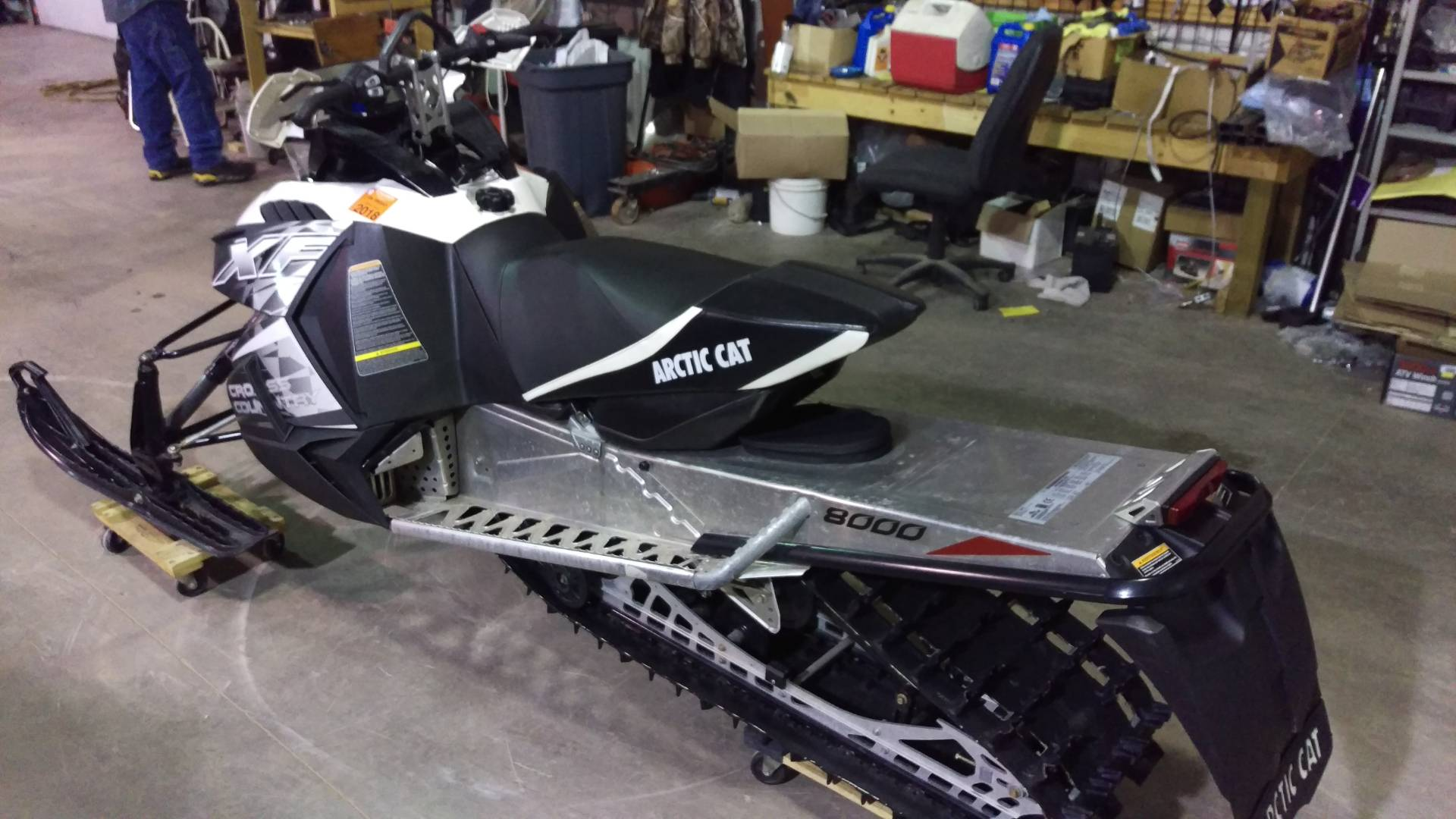 2014 Arctic Cat XF 8000 Sno Pro® Cross Country in Trego, Wisconsin