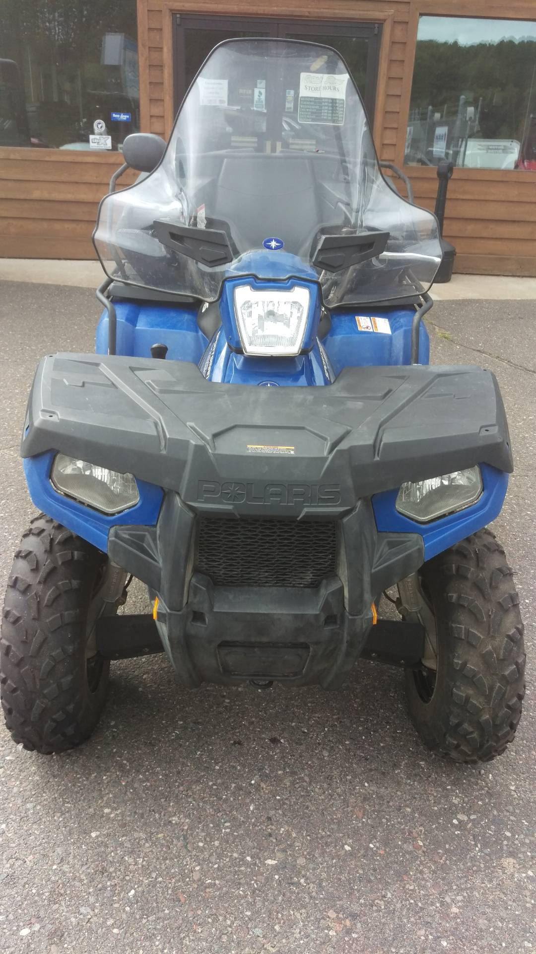 2012 Polaris Sportsman® 400 H.O. in Trego, Wisconsin