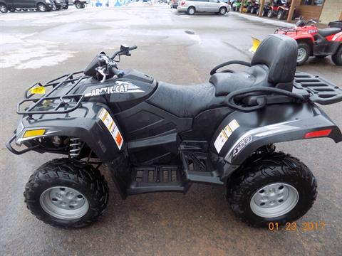 2012 Arctic Cat TRV® 450i in Trego, Wisconsin