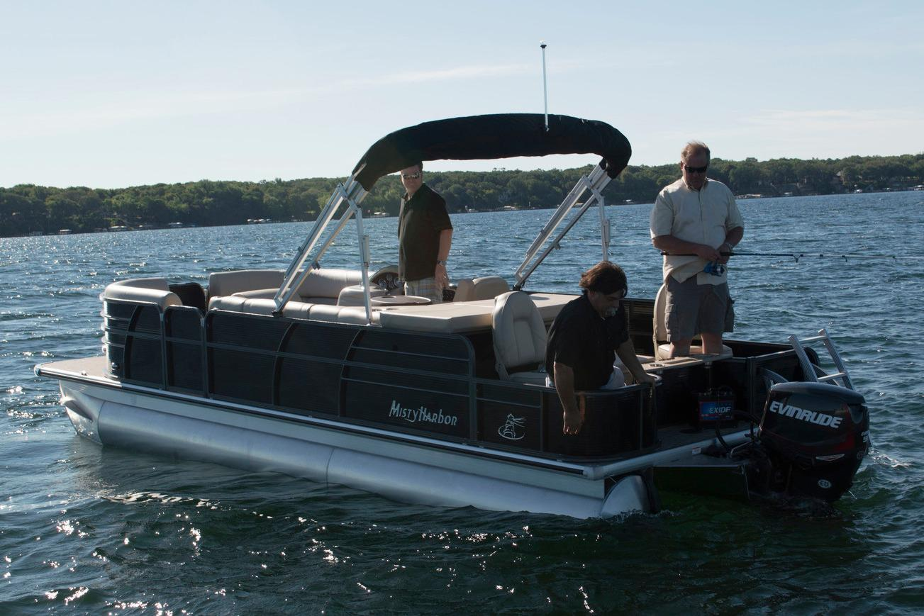 2017 Misty Harbor 2285 Biscayne Bay RF in Trego, Wisconsin