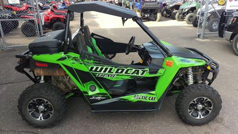 2014 Arctic Cat Wildcat™ Trail XT™ in Trego, Wisconsin