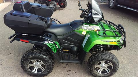 2012 Arctic Cat 550i Limited in Trego, Wisconsin