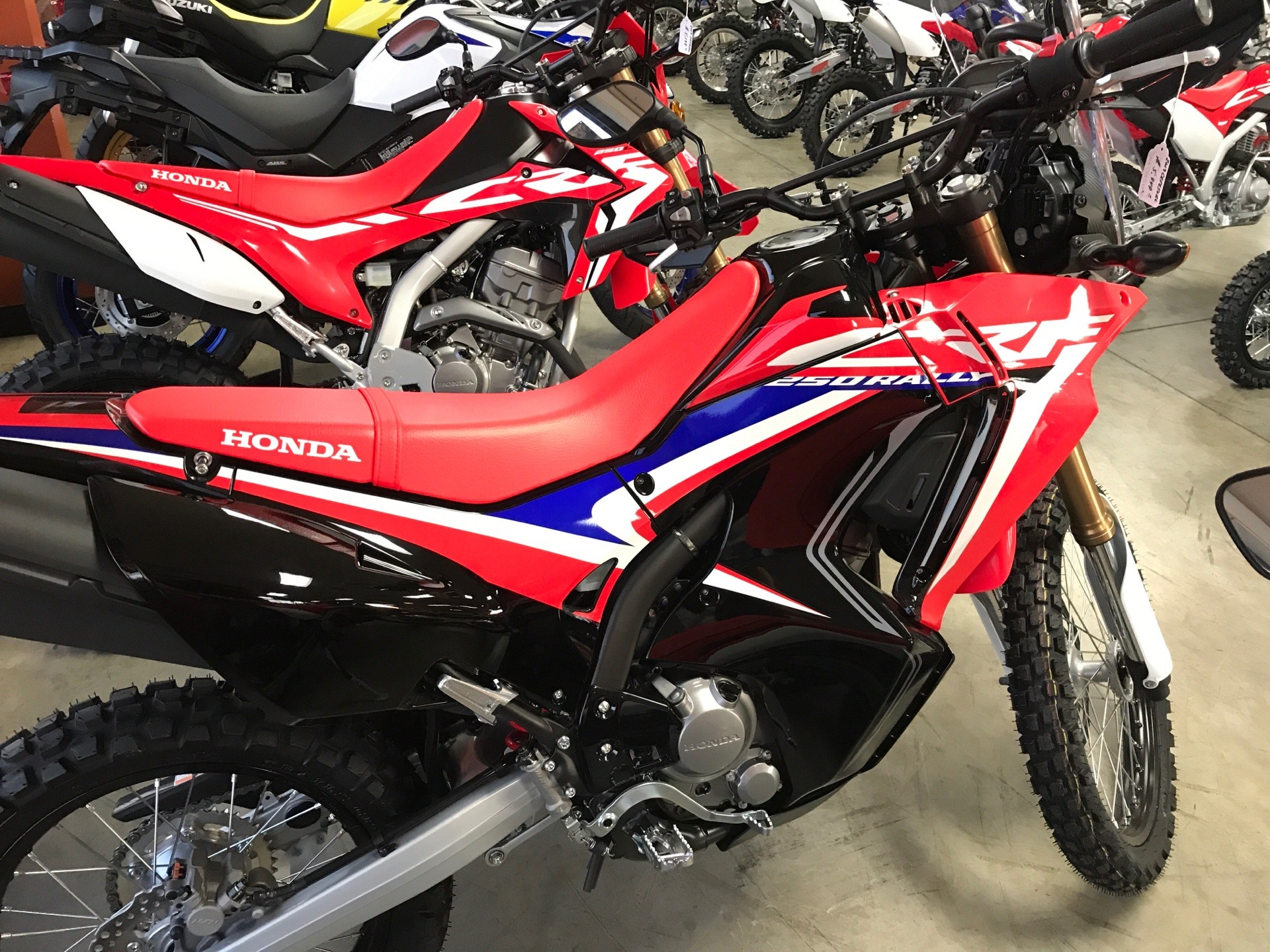 2019 Honda CRF250L Rally in Sanford, North Carolina - Photo 3