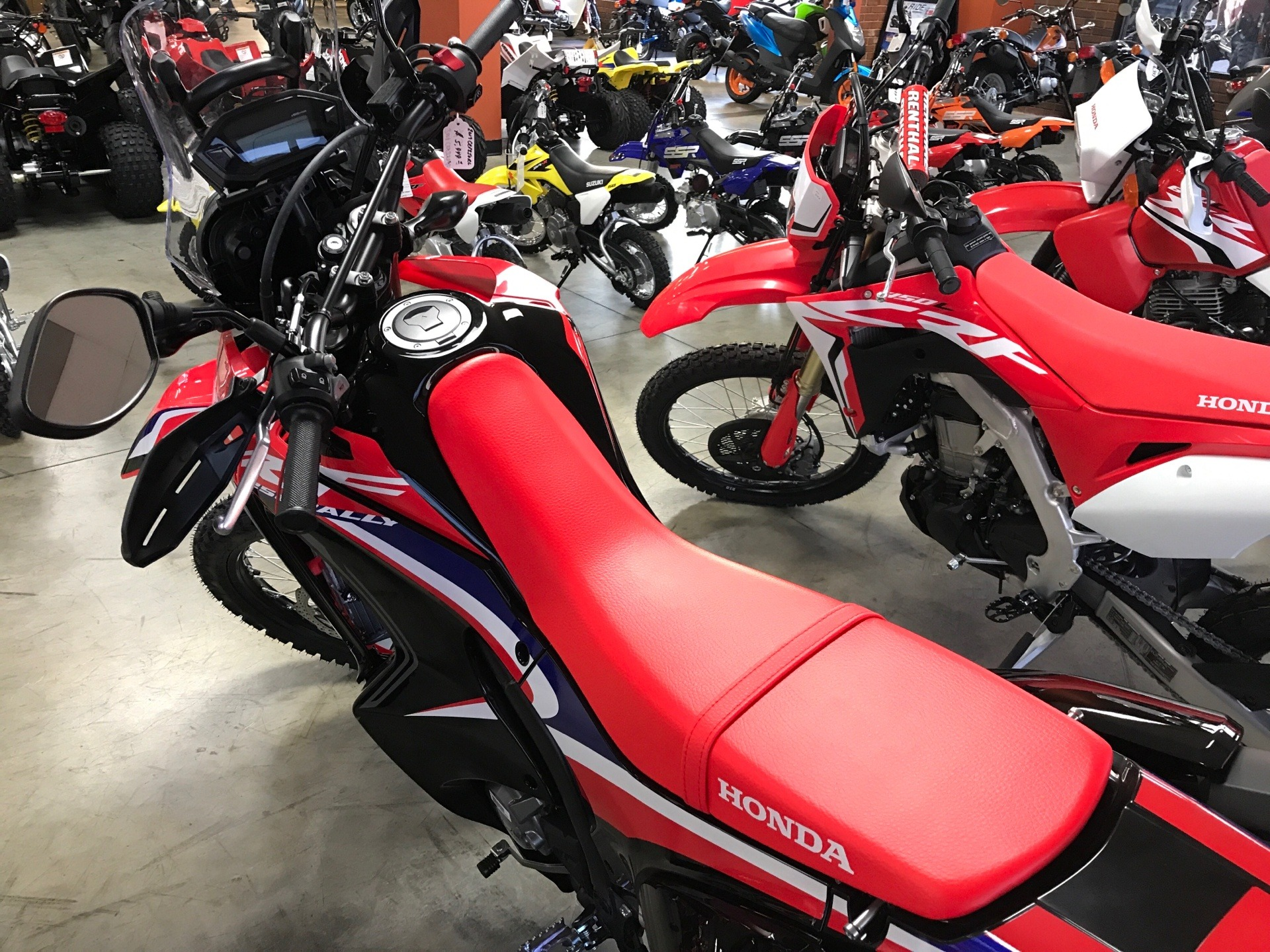 2019 Honda CRF250L Rally in Sanford, North Carolina - Photo 5