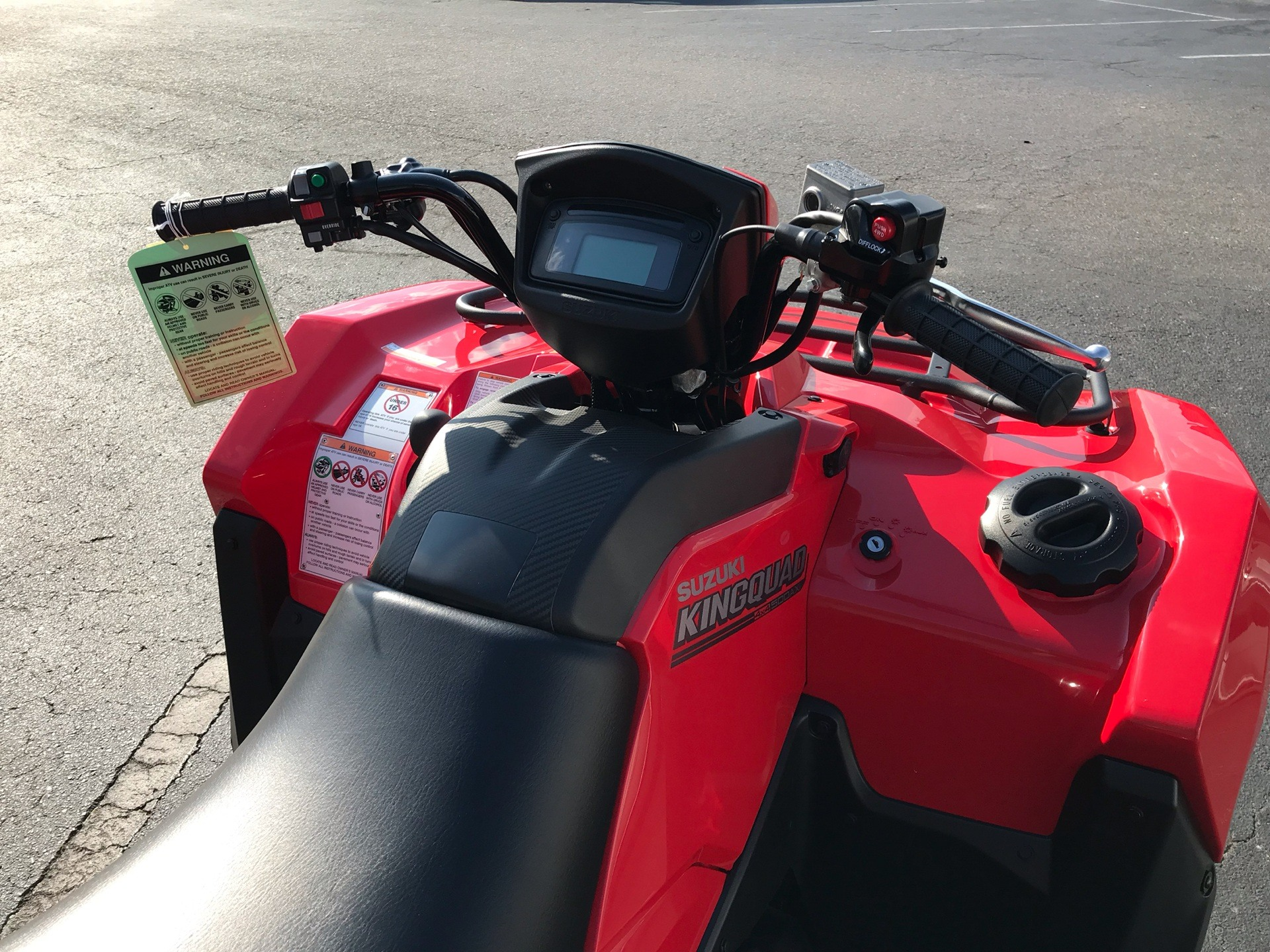 2020 Suzuki KingQuad 500AXi in Sanford, North Carolina - Photo 11