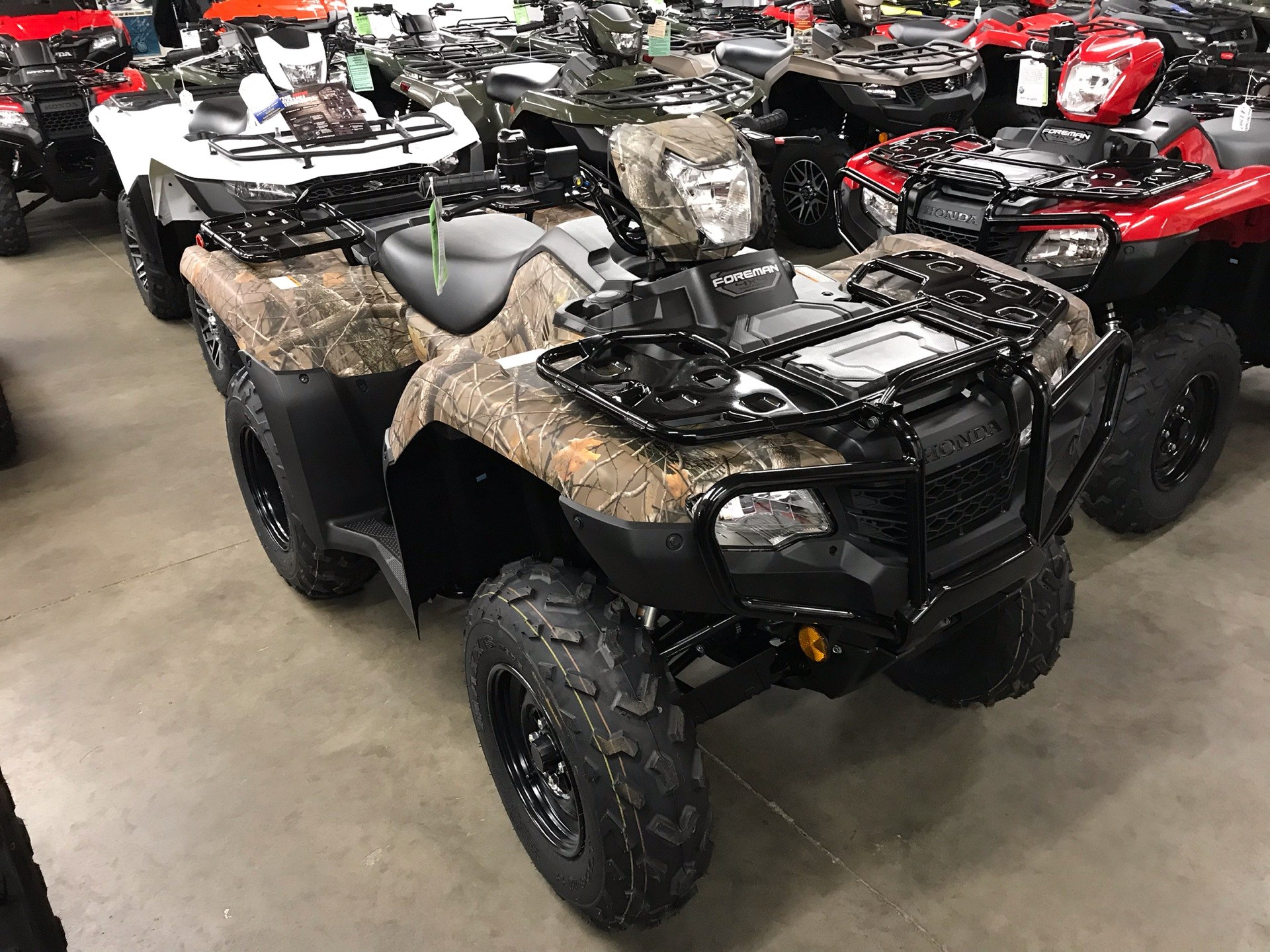 2020 Honda FourTrax Foreman 4x4 EPS in Sanford, North Carolina - Photo 1